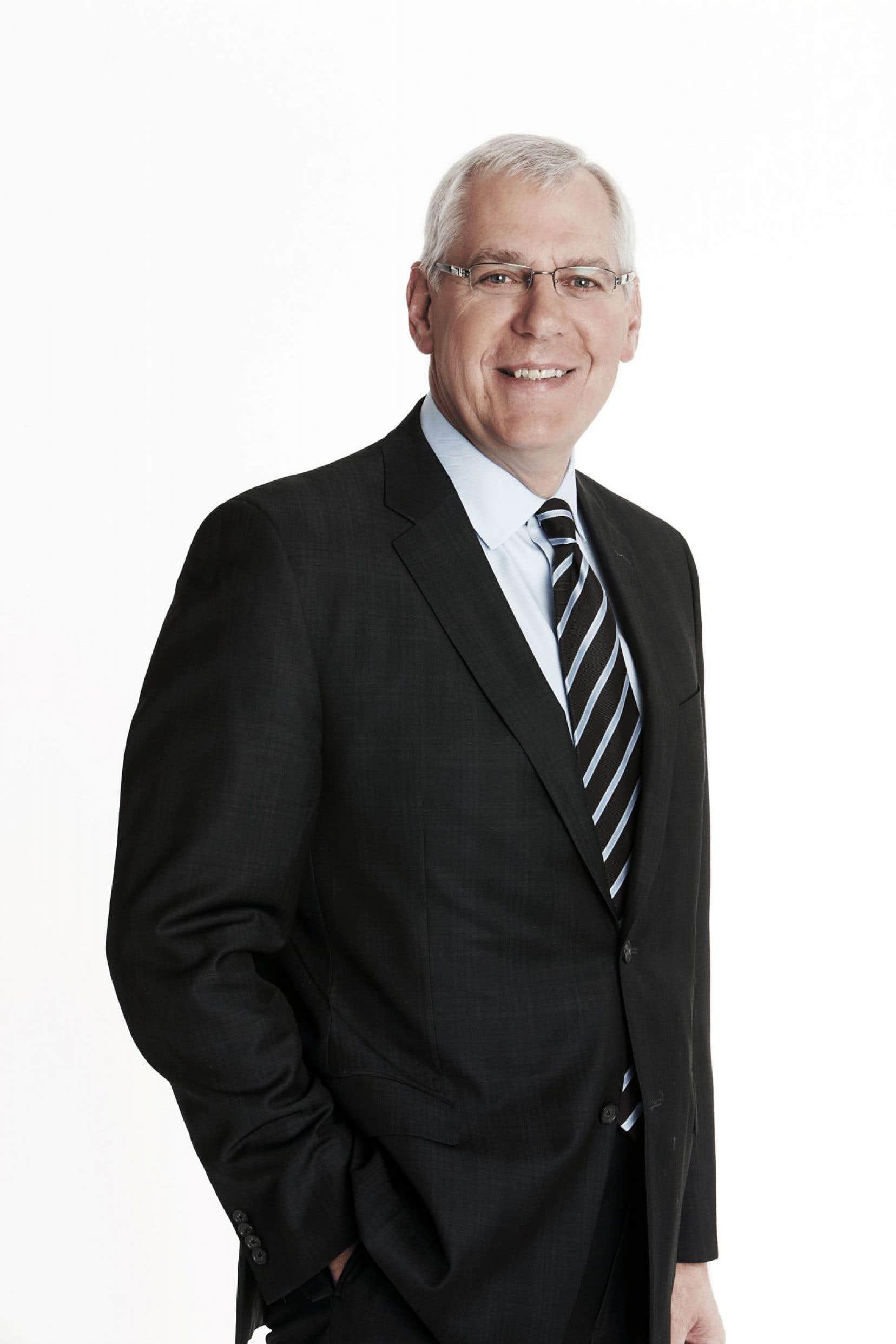 Gerry Frappier, président de Télévision francophone et RDS chez Bell Média