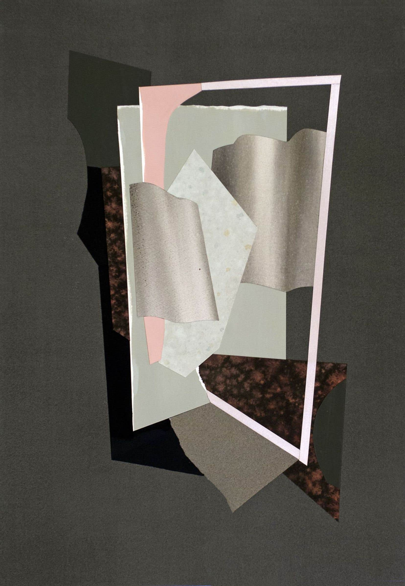 Simone Rochon, «Natures mortes (papiers pour Braque)»