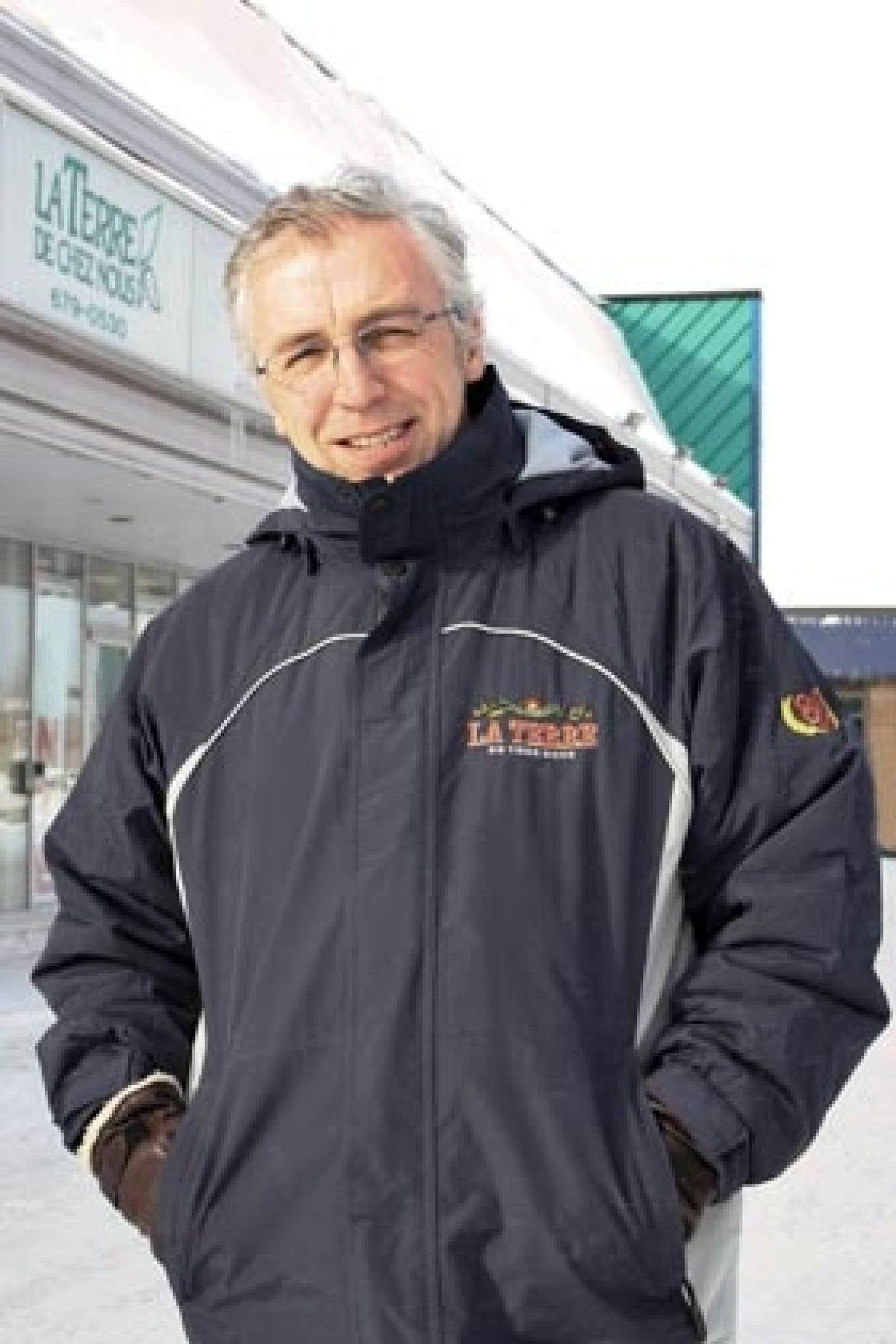 Loïc Hamon, le directeur de La Terre de chez nous