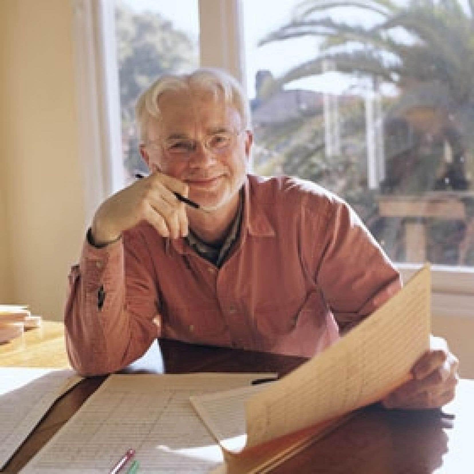 Le compositeur John Adams, chez lui. Photo: Margaret Mitchell