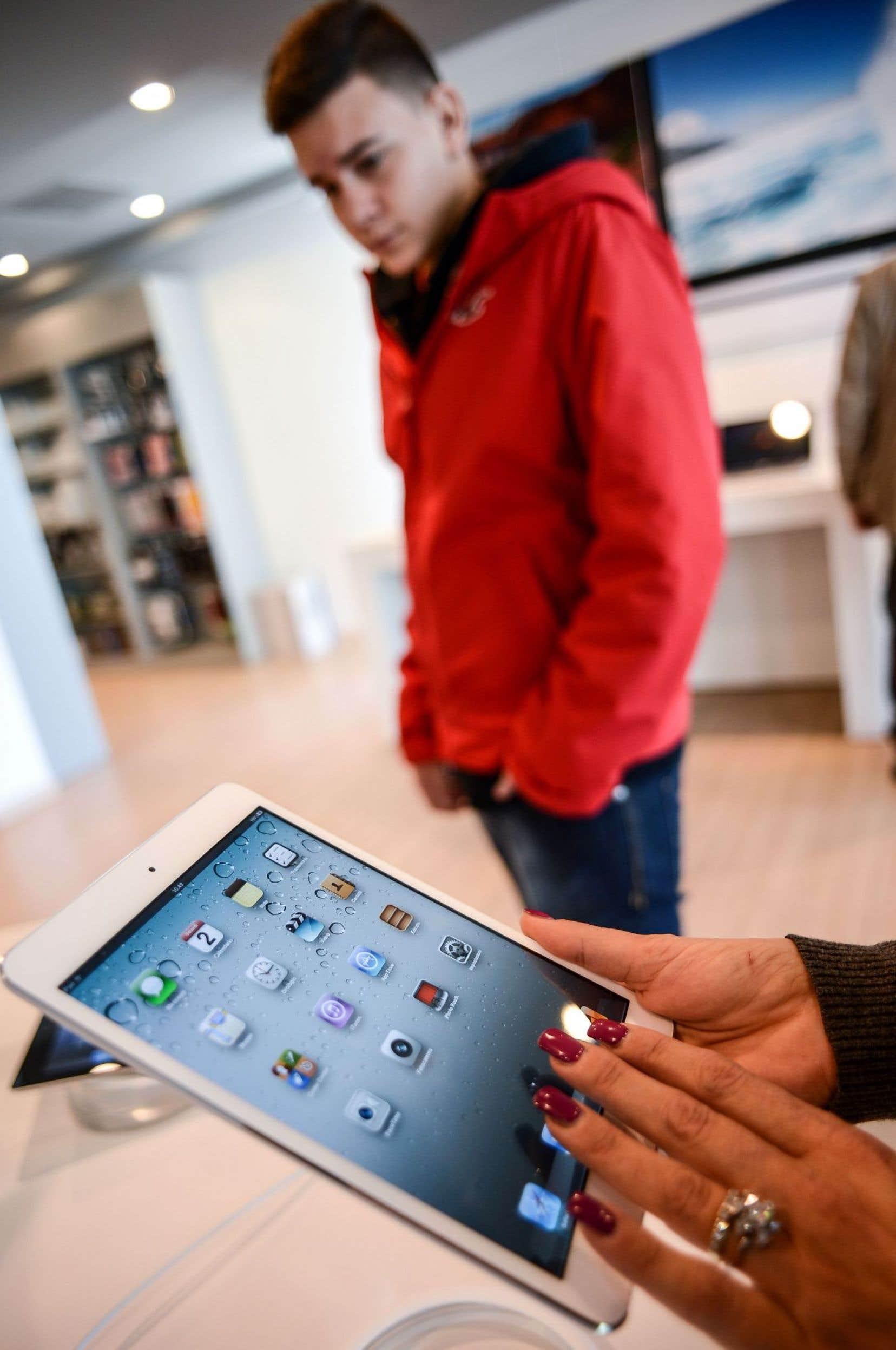 Apple reste le numéro un sur le marché des tablettes numériques.