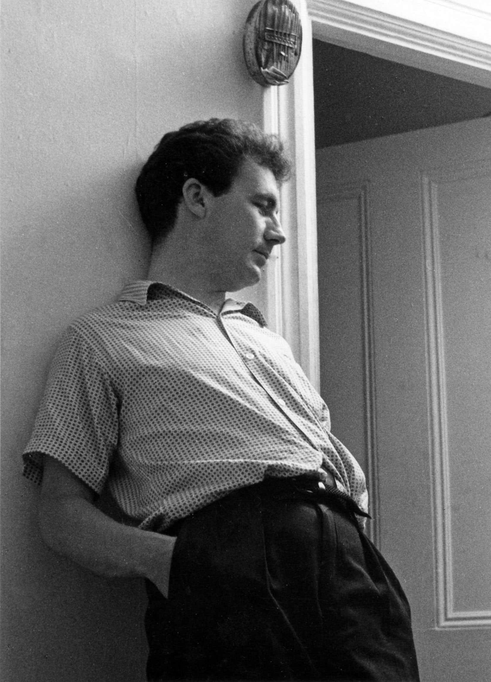 Claude Jutra photographié en 1981