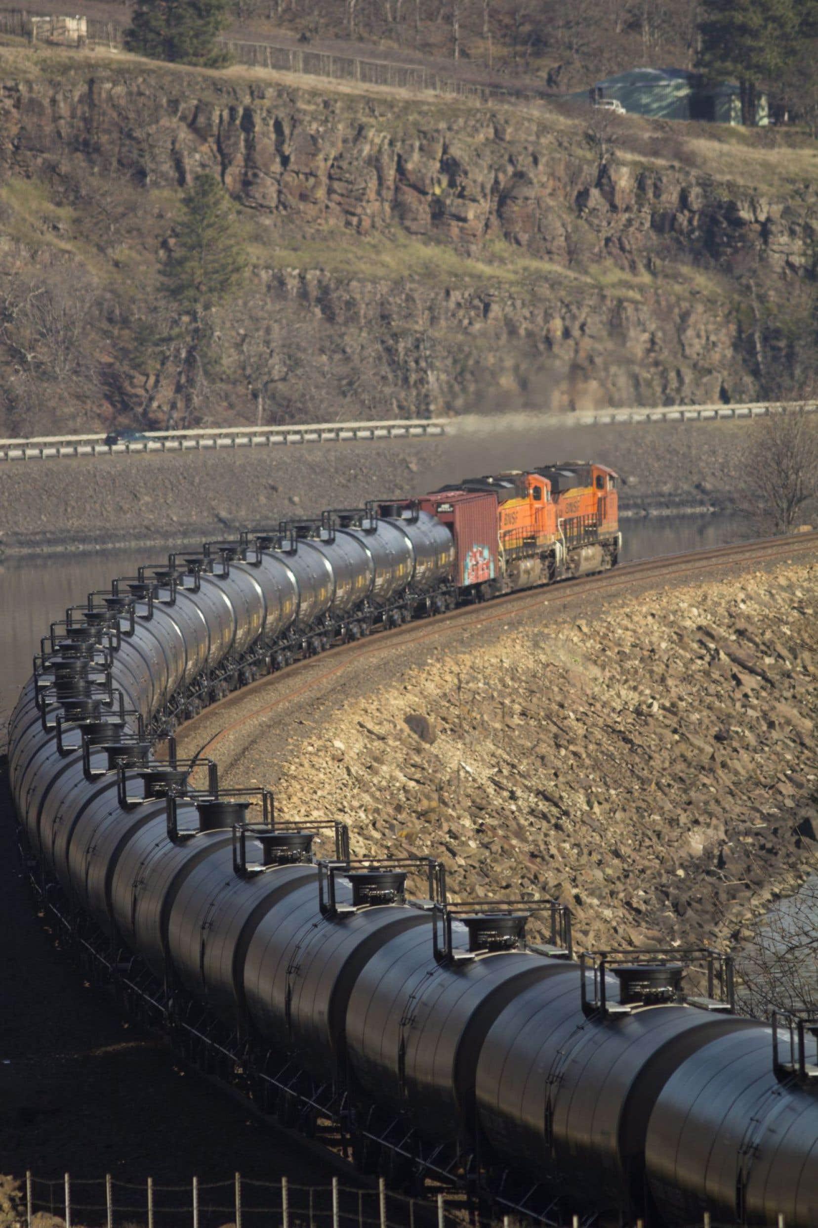 Avec le projet Chaleur Terminals, 220 wagons-citernes traverseront le Québec chaque jour.