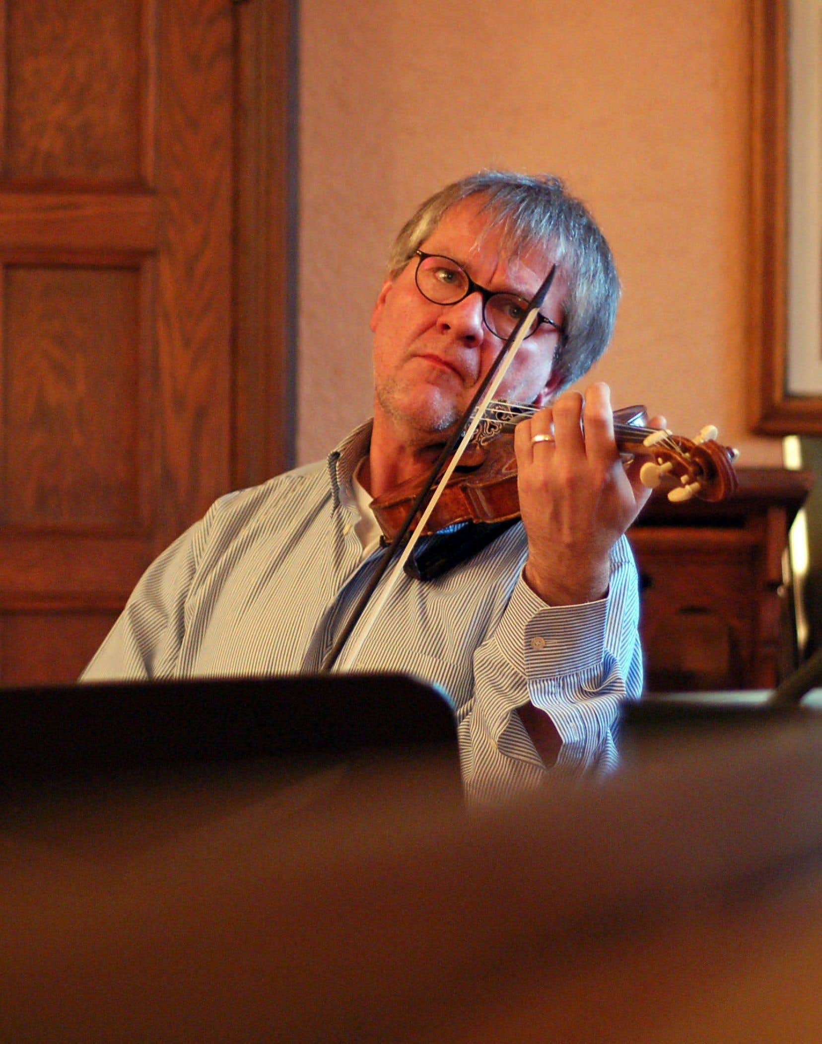 Reinhard Goebel, le chef le plus iconoclaste de l'univers baroque, dirigera un concert à la salle Bourgie en octobre.