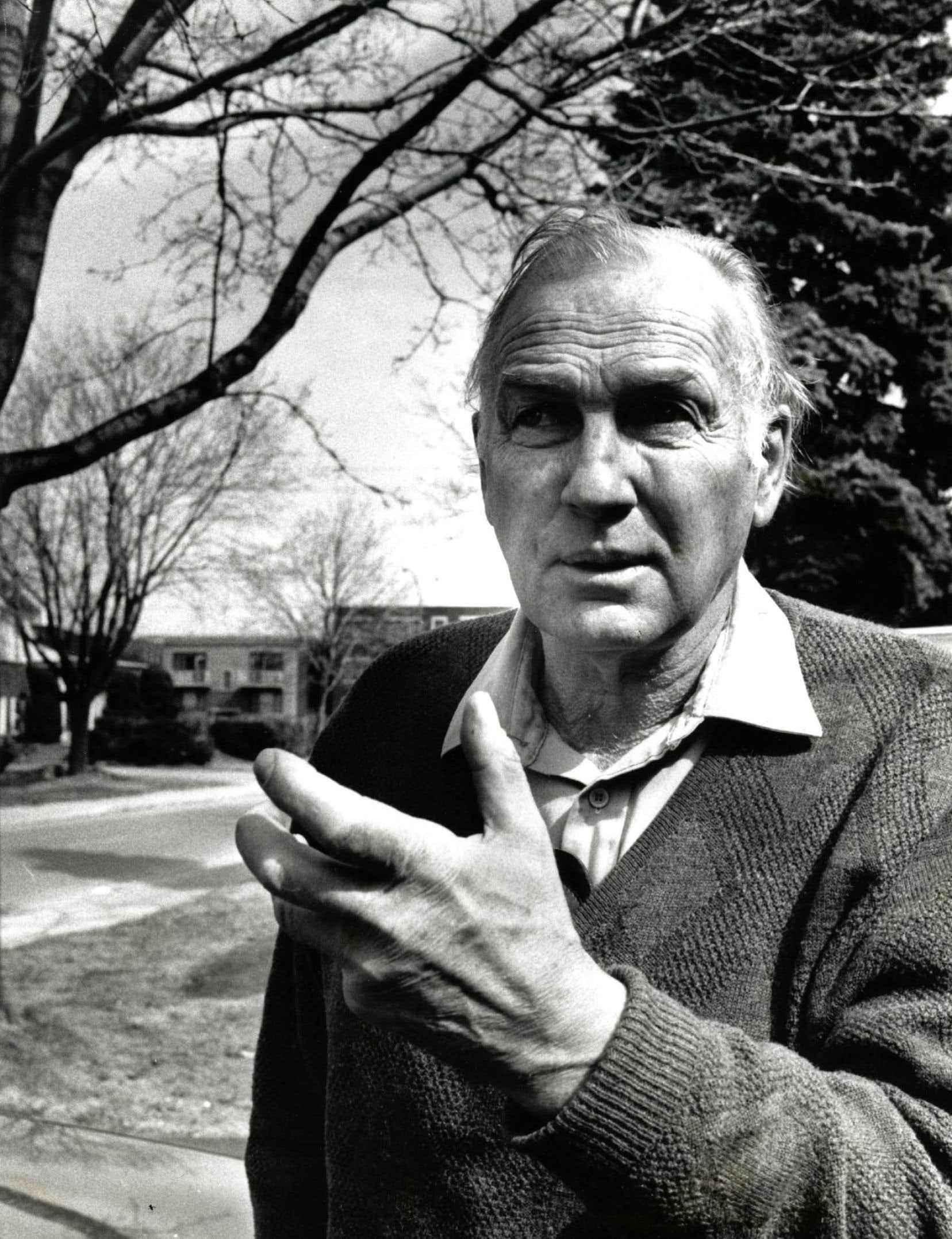 Le poète Pierre Perrault