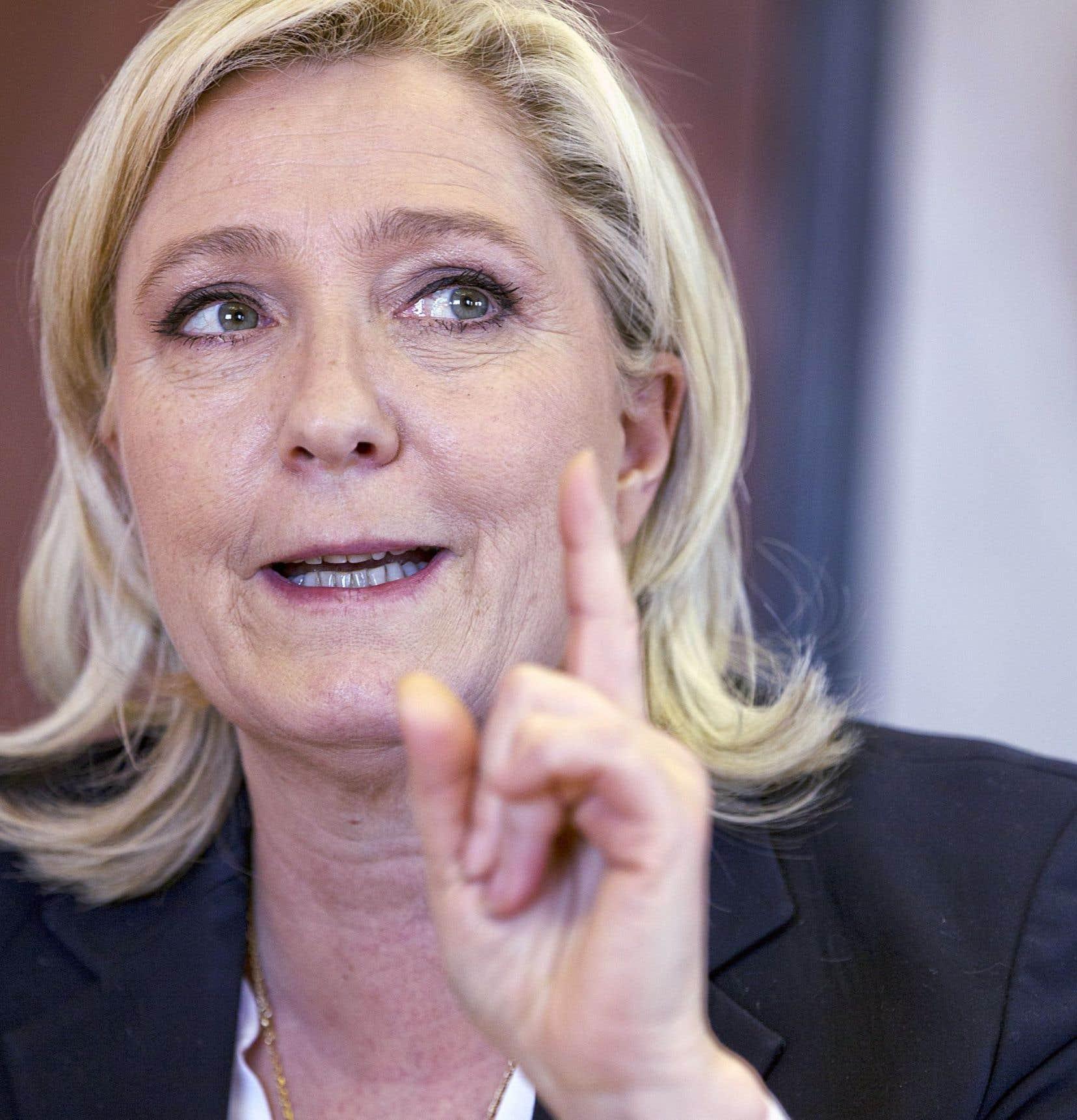 Marine Le Pen a pris la tête du FN en janvier 2011.