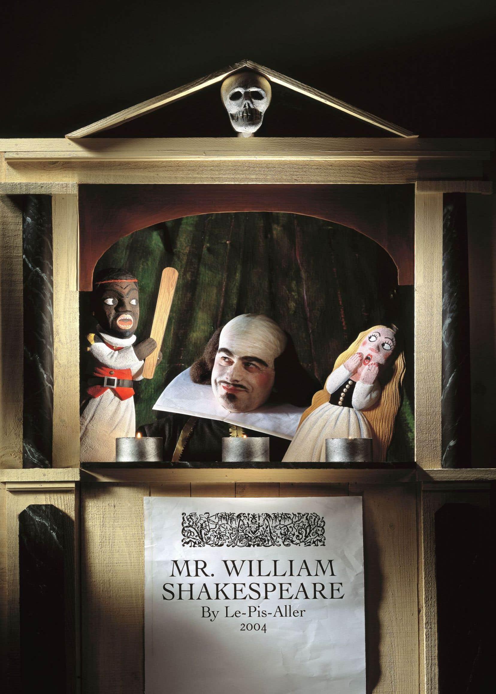 William Shakespeare vu par le groupe Le Pis-Aller
