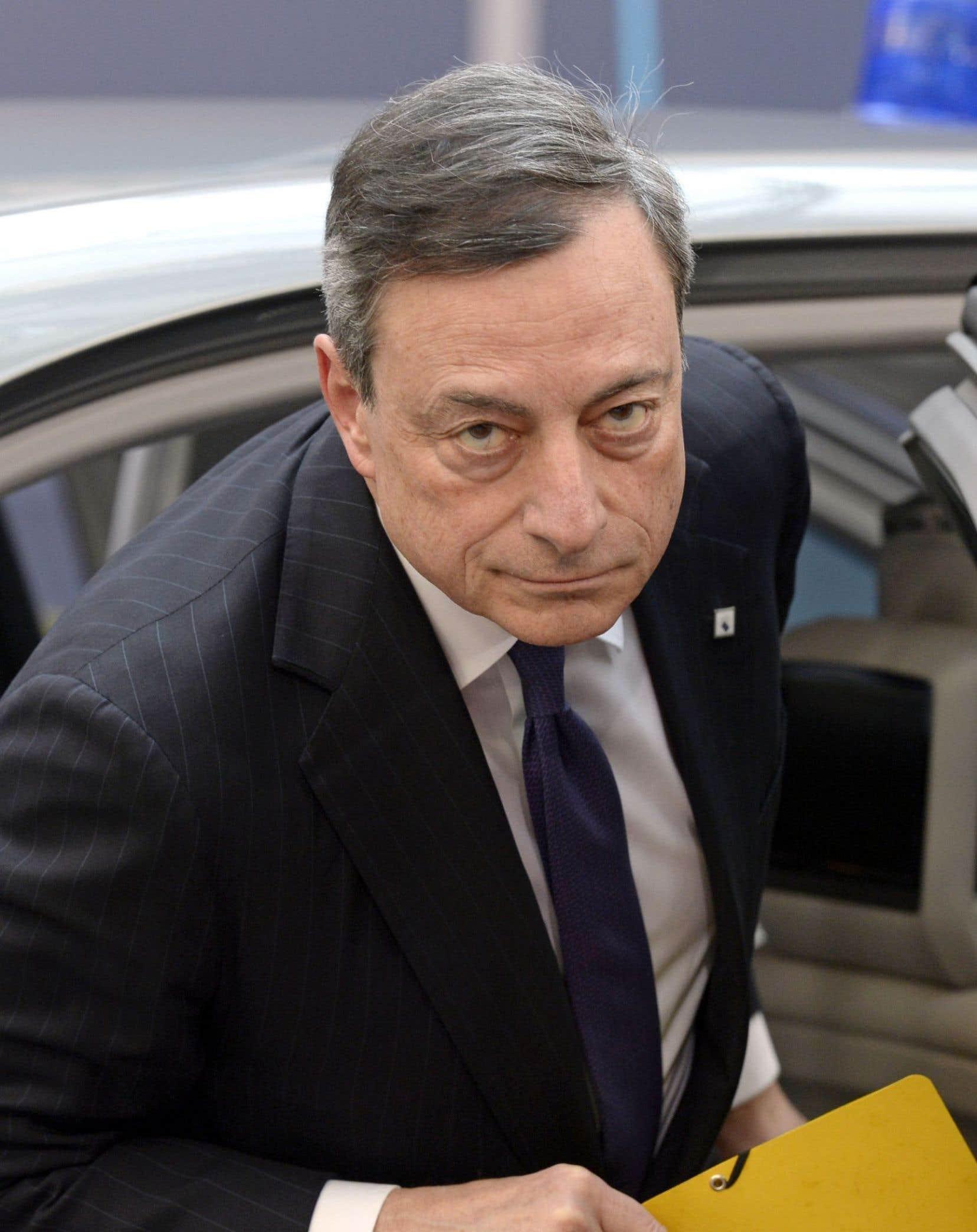 Mario Draghi: «Nous avons pour mandat de chercher à atteindre la stabilité des prix pour toute la zone euro, pas seulement pour l'Allemagne.»