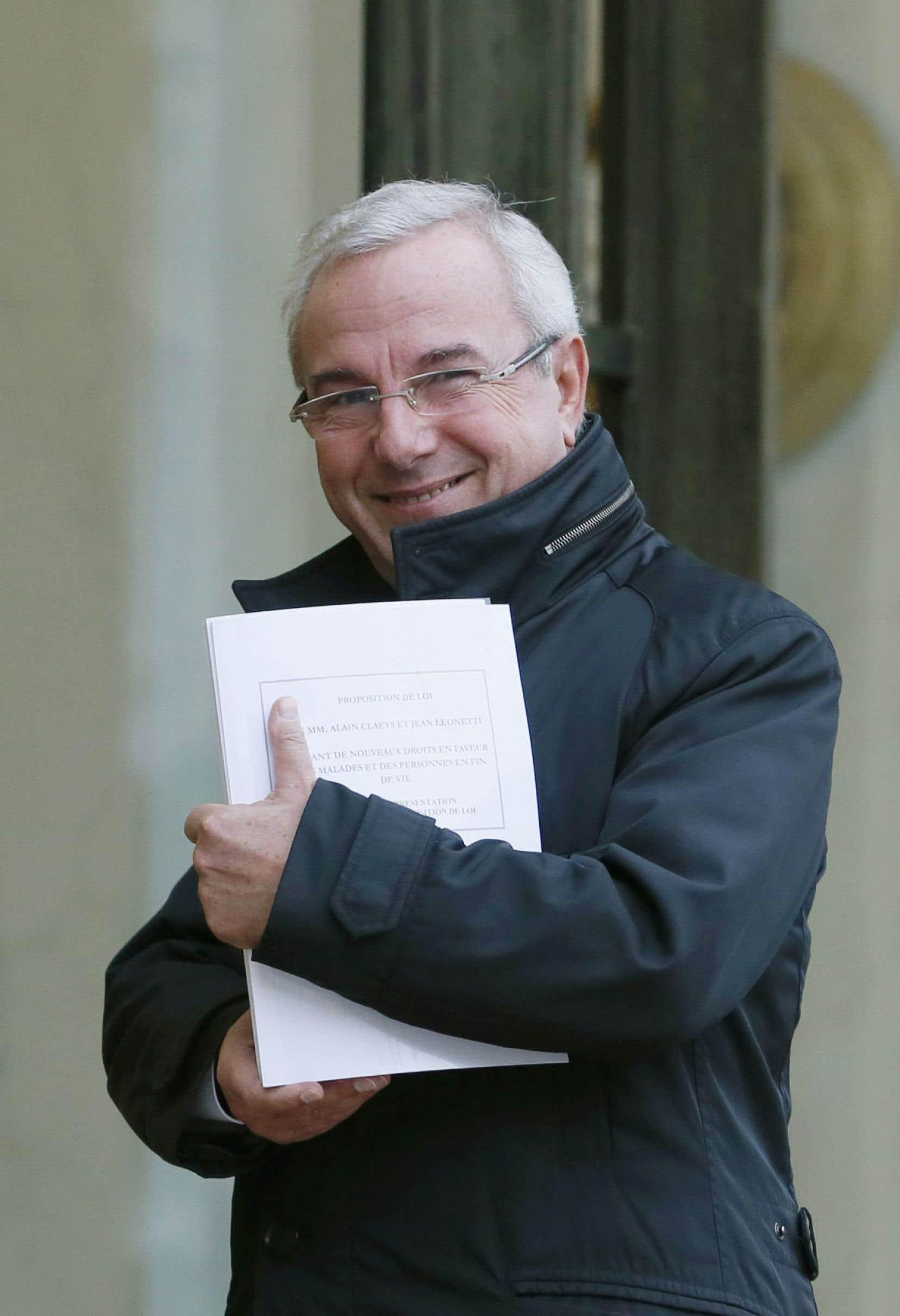 Jean Leonetti a été un des penseurs de la loi française sur la fin de vie.