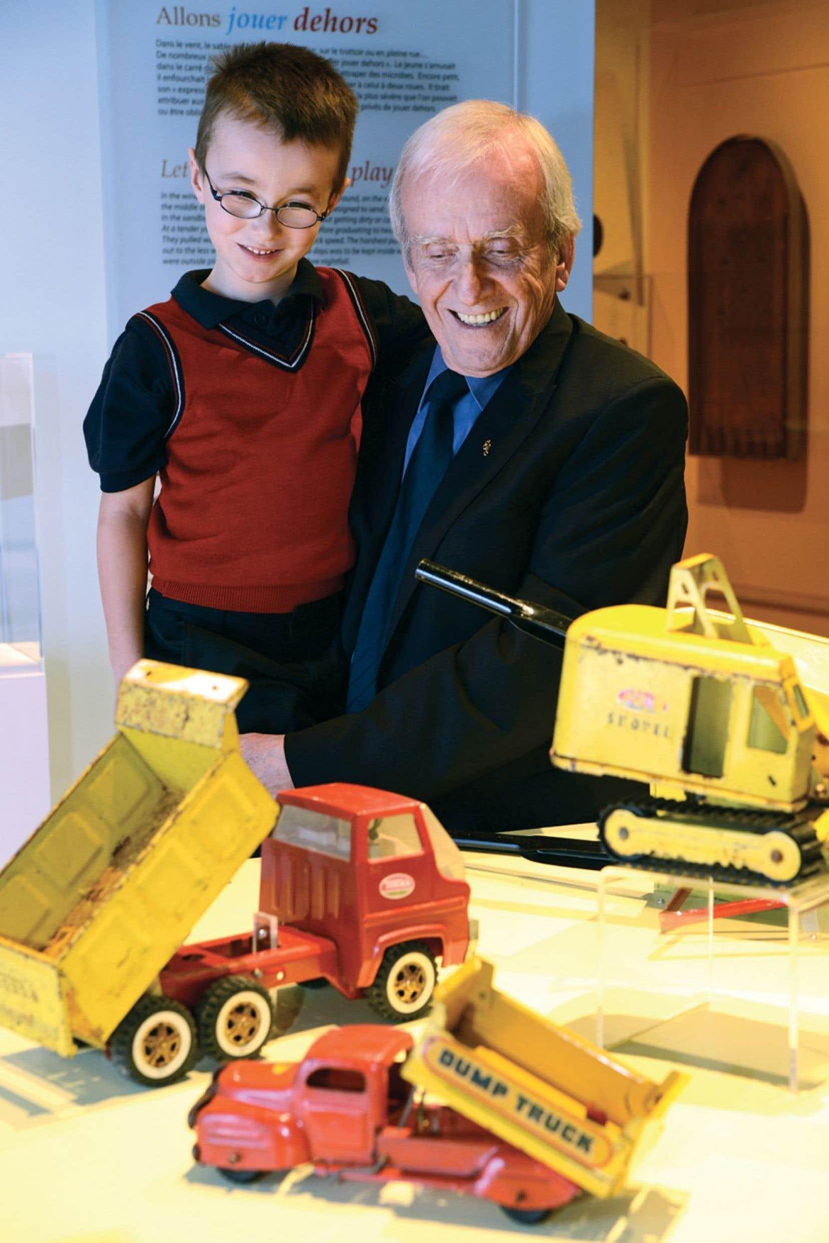 Vue de l'exposition «Dans mon temps… les jouets»