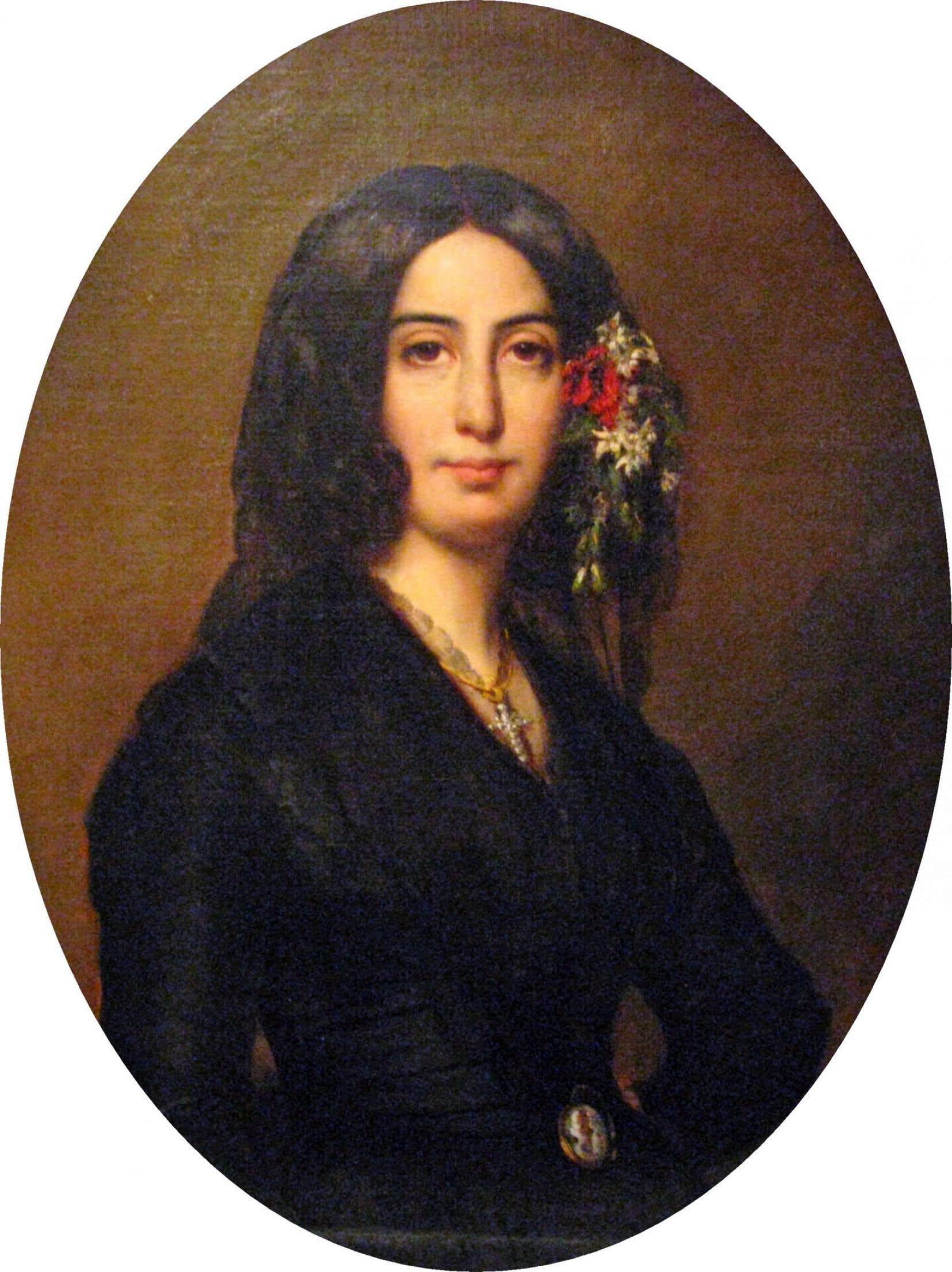 Portrait de George Sand par Auguste Charpentier