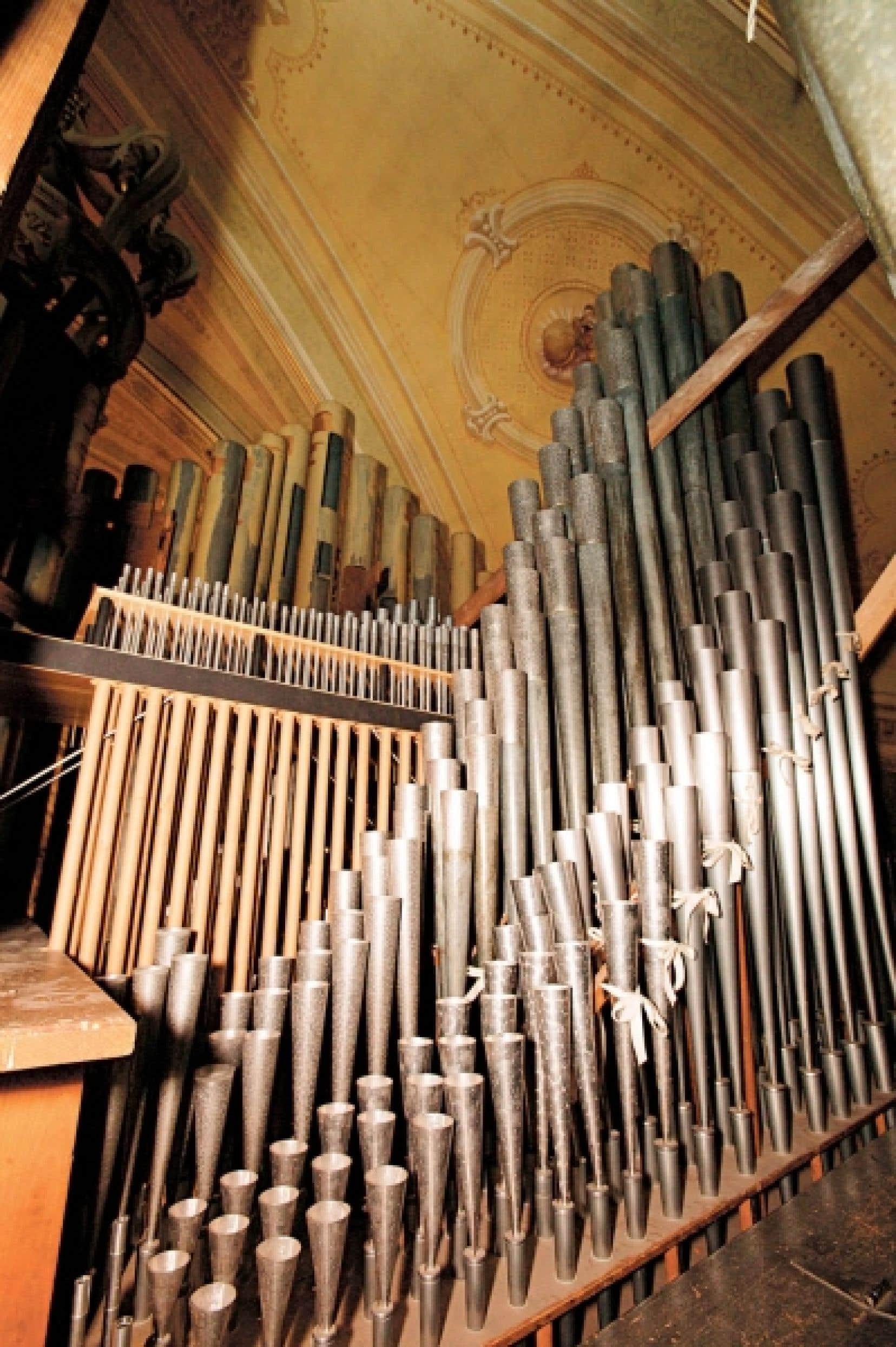 L'orgue a une valeur inestimable...