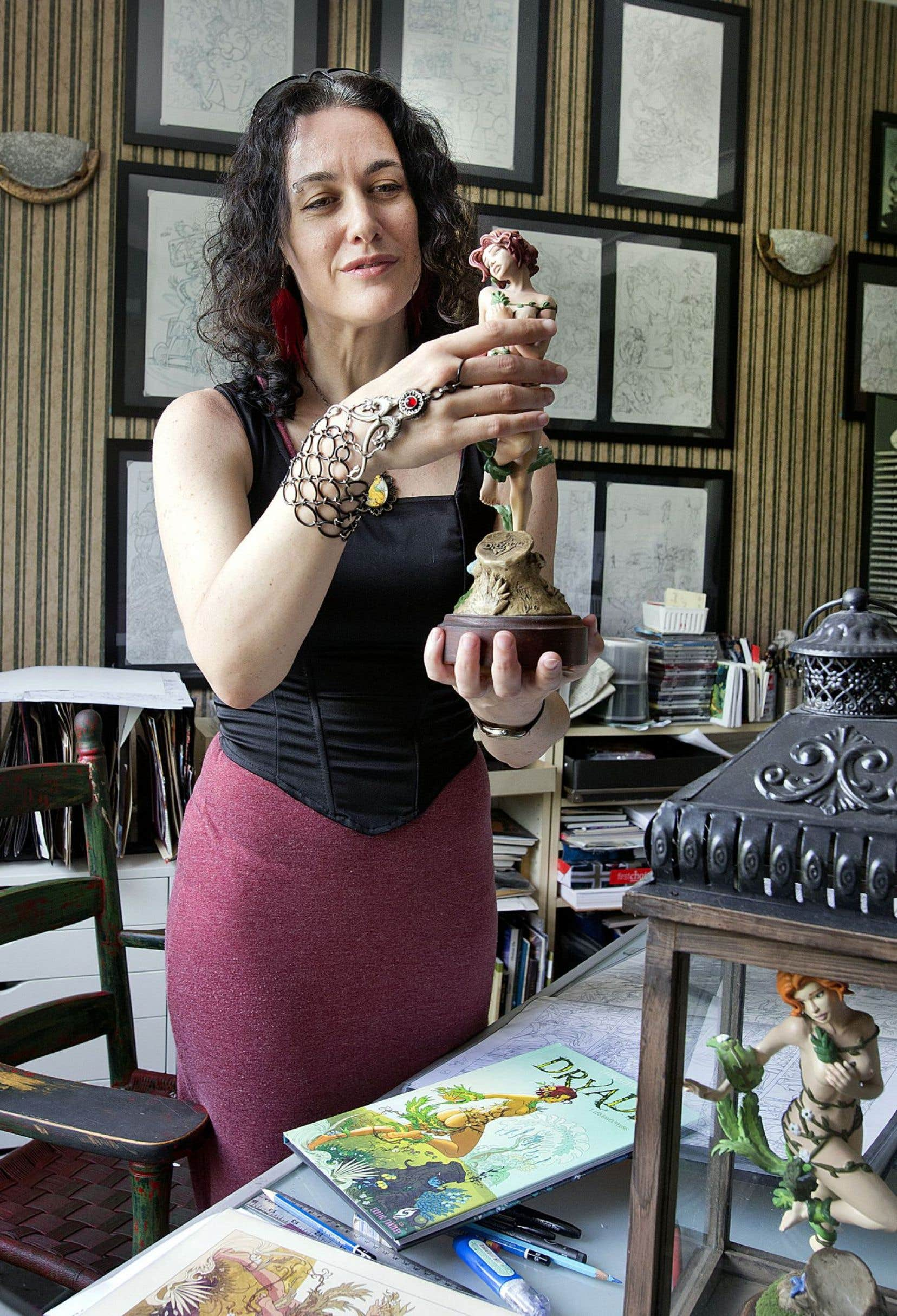 L'auteure Stéphanie Leduc, derrière la bande dessinée «Dryade», estime que la bédé érotique gagnerait à trouver ses marques encore plus au Québec.