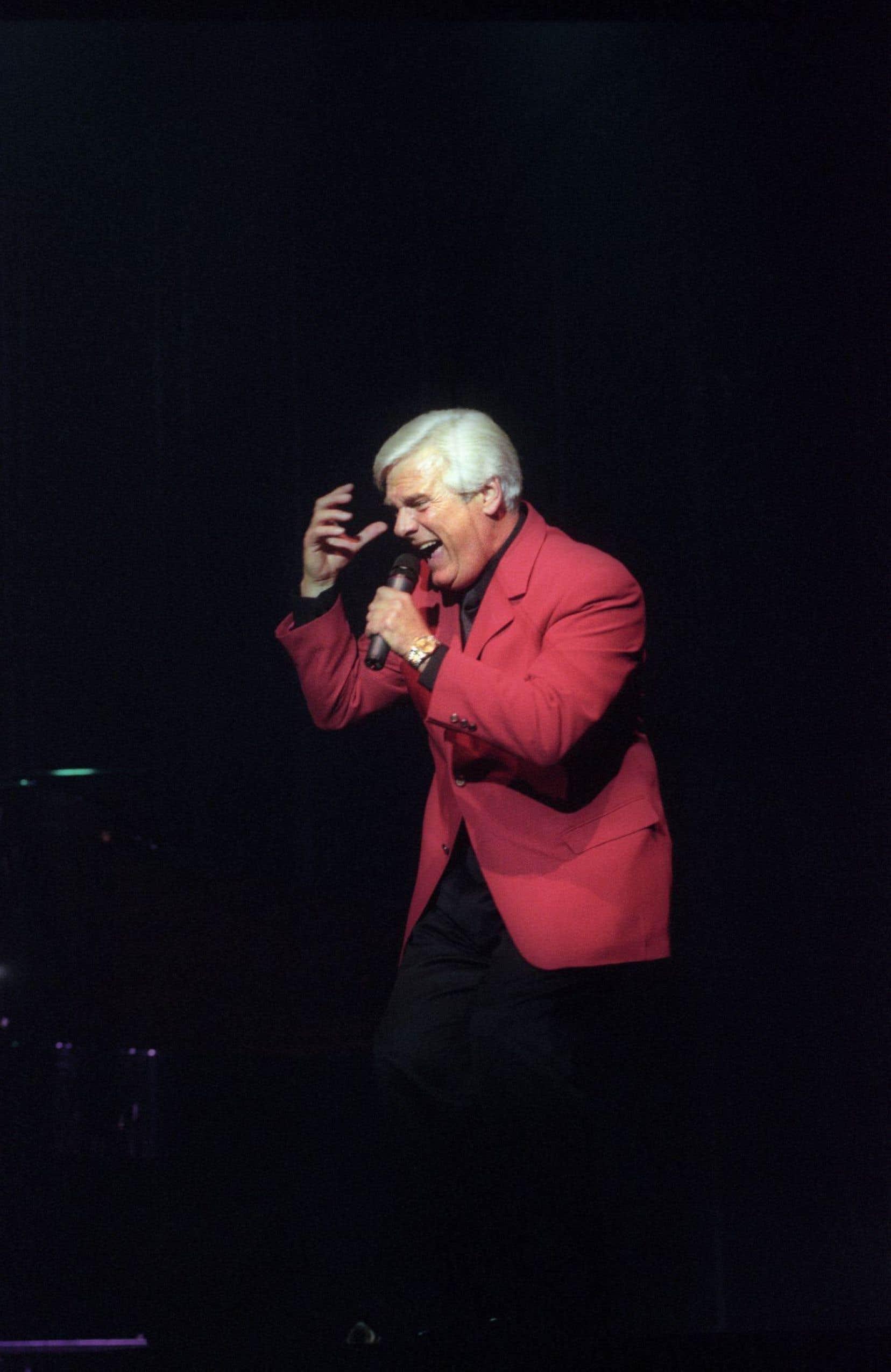 Pierre Lalonde s'est produit au Casino de Montréal à l'automne 2000.