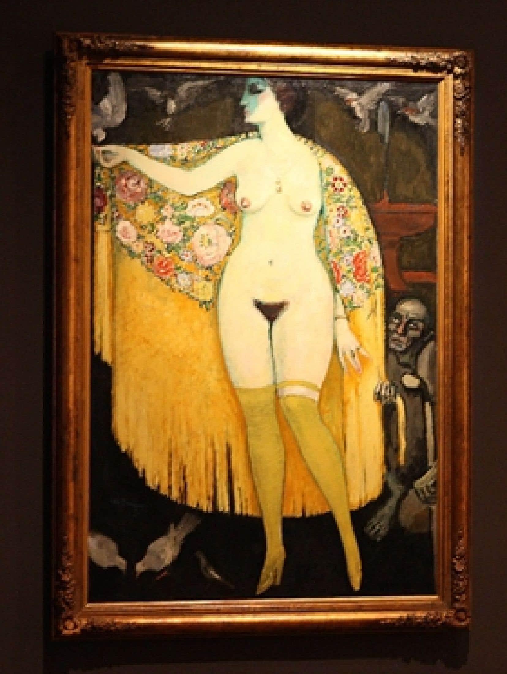 Tableau, 1913, de Kees Van Dongen. Collection du Musée d'art moderne, Centre Georges-Pompidou.
