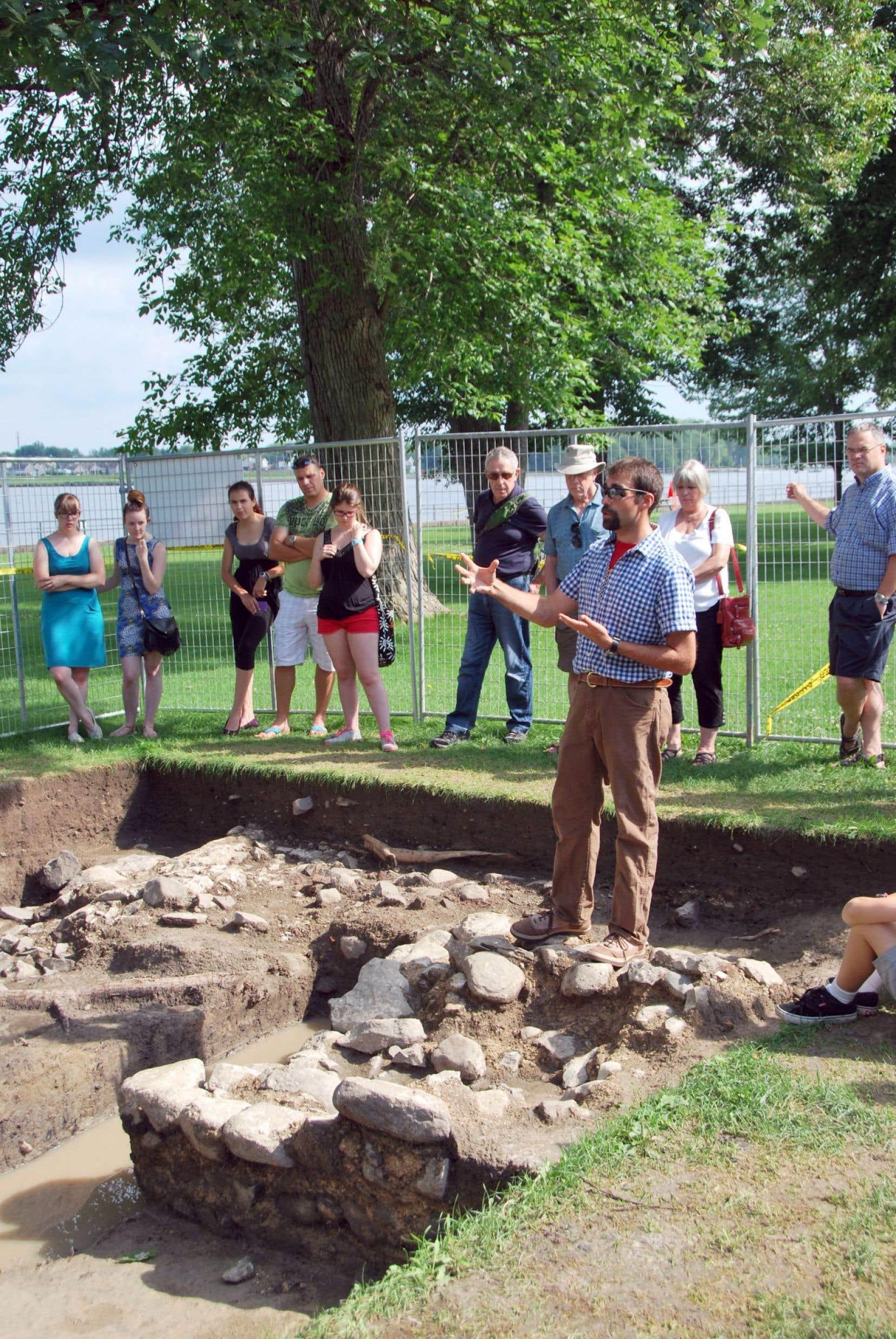 Le Mois de l'archéologie permet de connaître cette discipline bien vivante. Ici, au musée du Fort Saint-Jean, à Saint-Jean-sur-Richelieu.