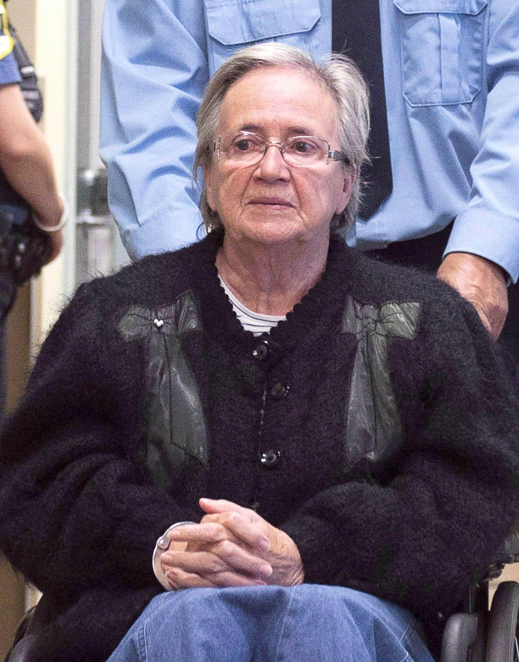 Lise Thibault purgeait sa peine de prison de 18 mois depuis le 25février.