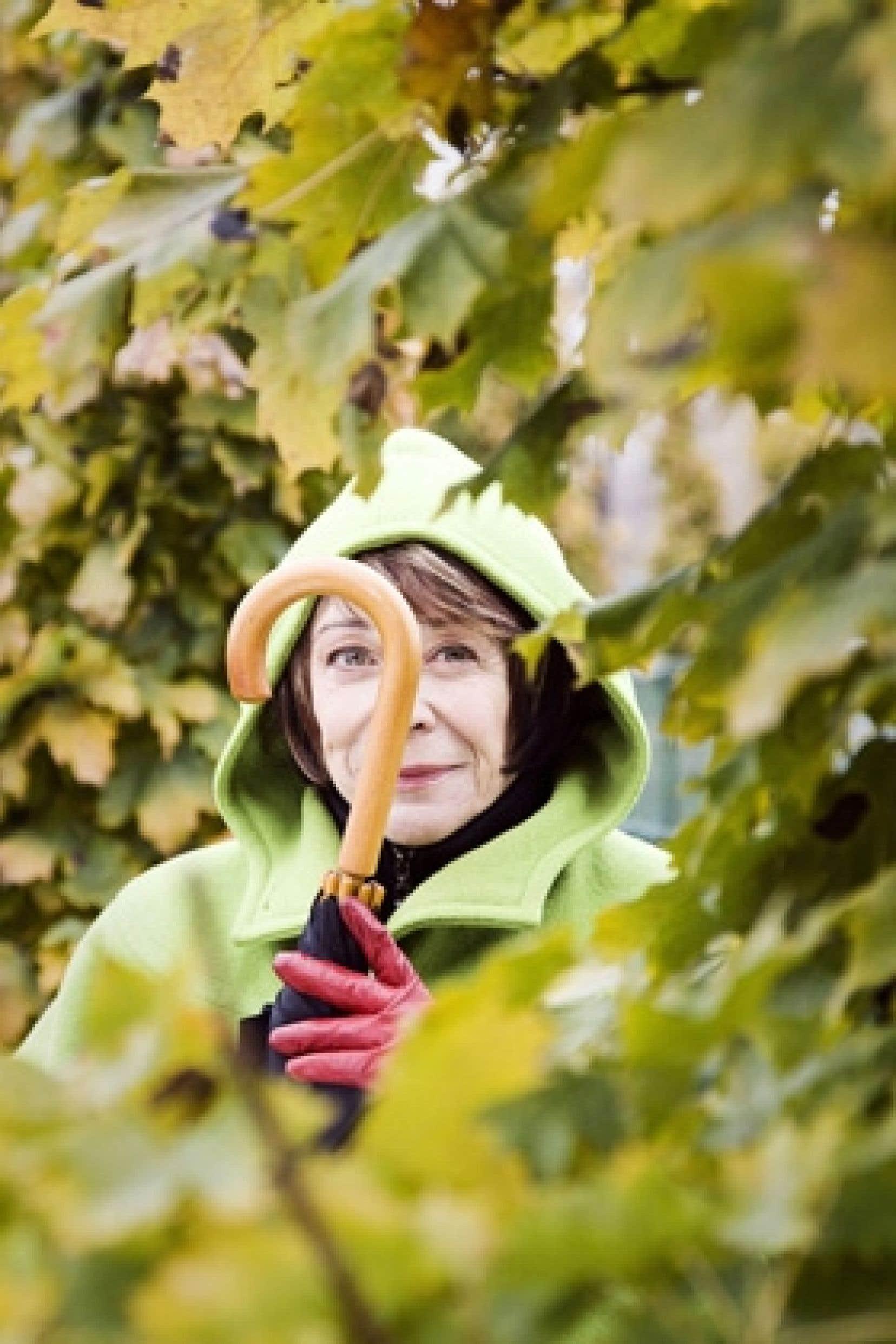 Louise Forestier est dotée d'une incroyable faculté de rebondissement.