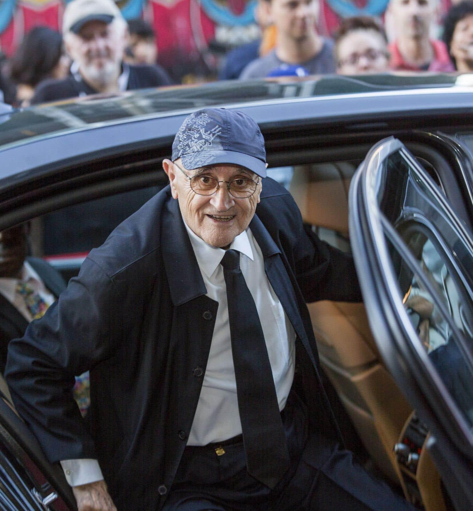 Le fondateur du Festival des films du monde, Serge Losique