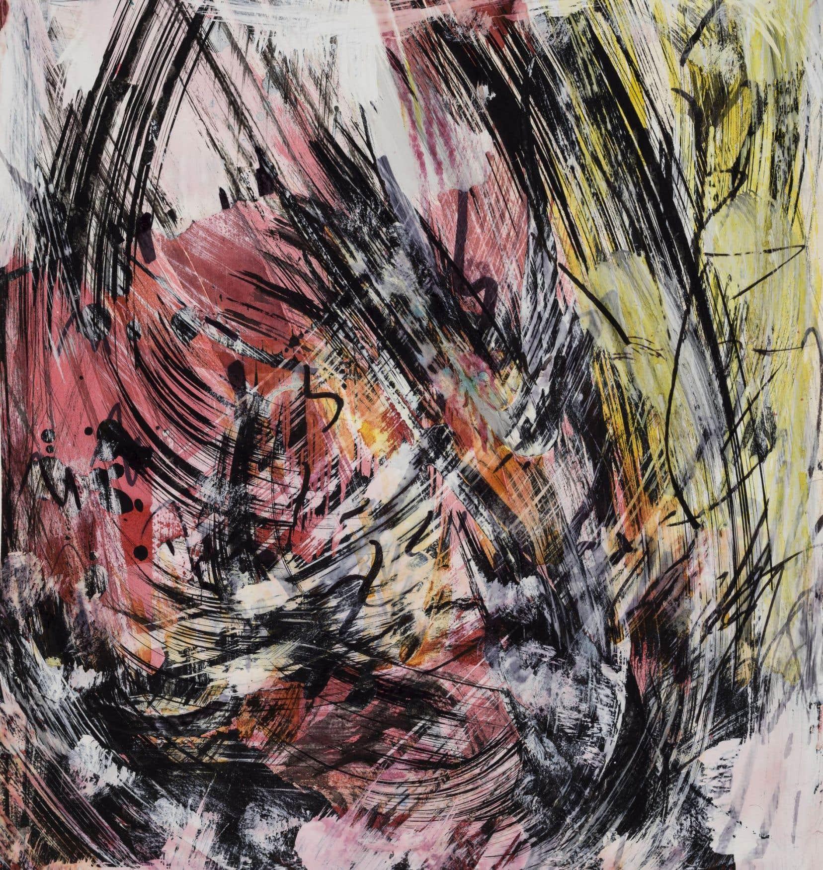 Le galeriste Michel Guimont a choisi 33 oeuvres, dont 29 sur papier et 4 toiles. Elles sont presque toutes inédites.