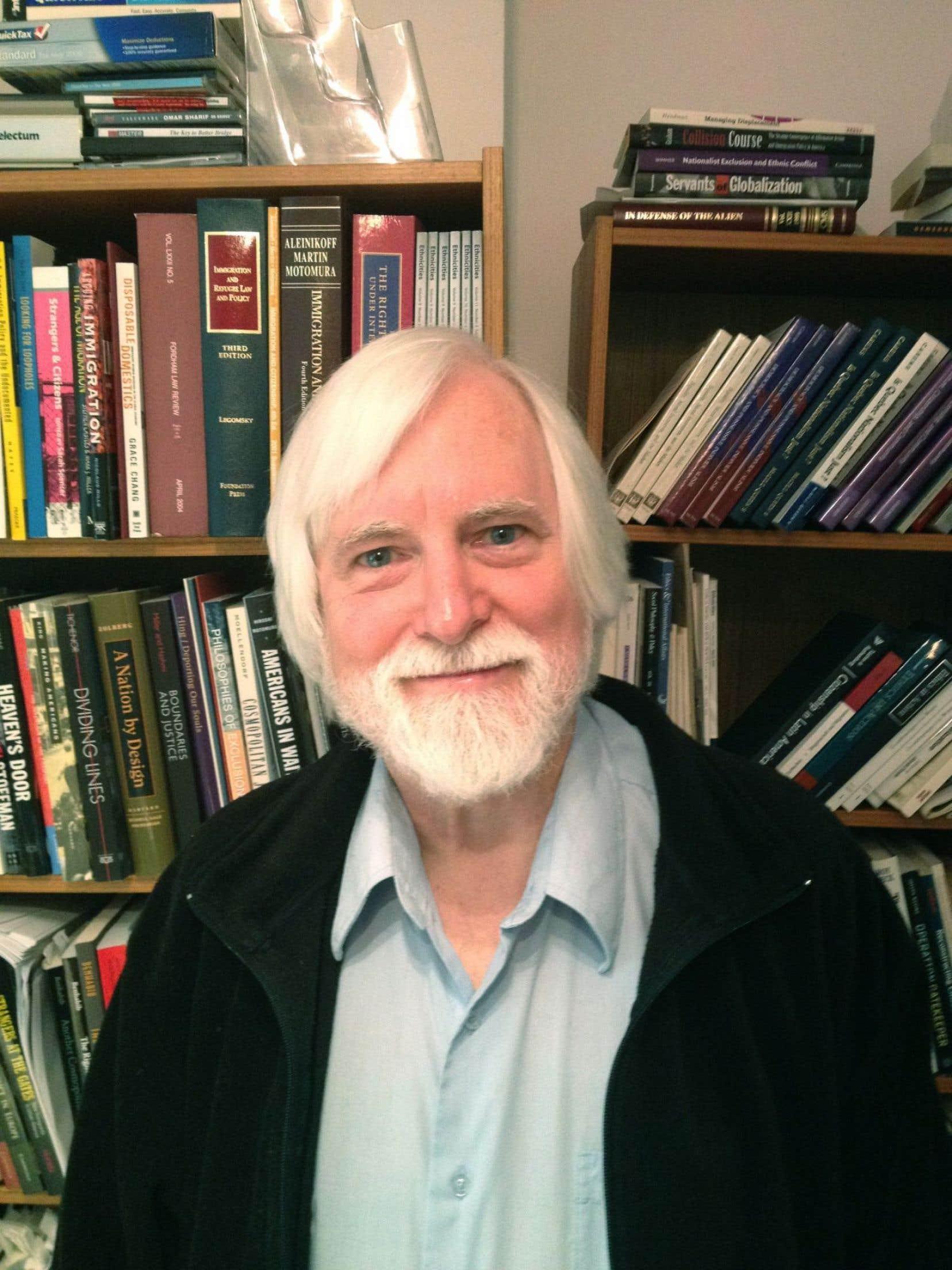 Le philosophe canadien d'origine américaine Joseph Carens s'intéresse à la dimension éthique de l'immigration depuis une trentaine d'années.