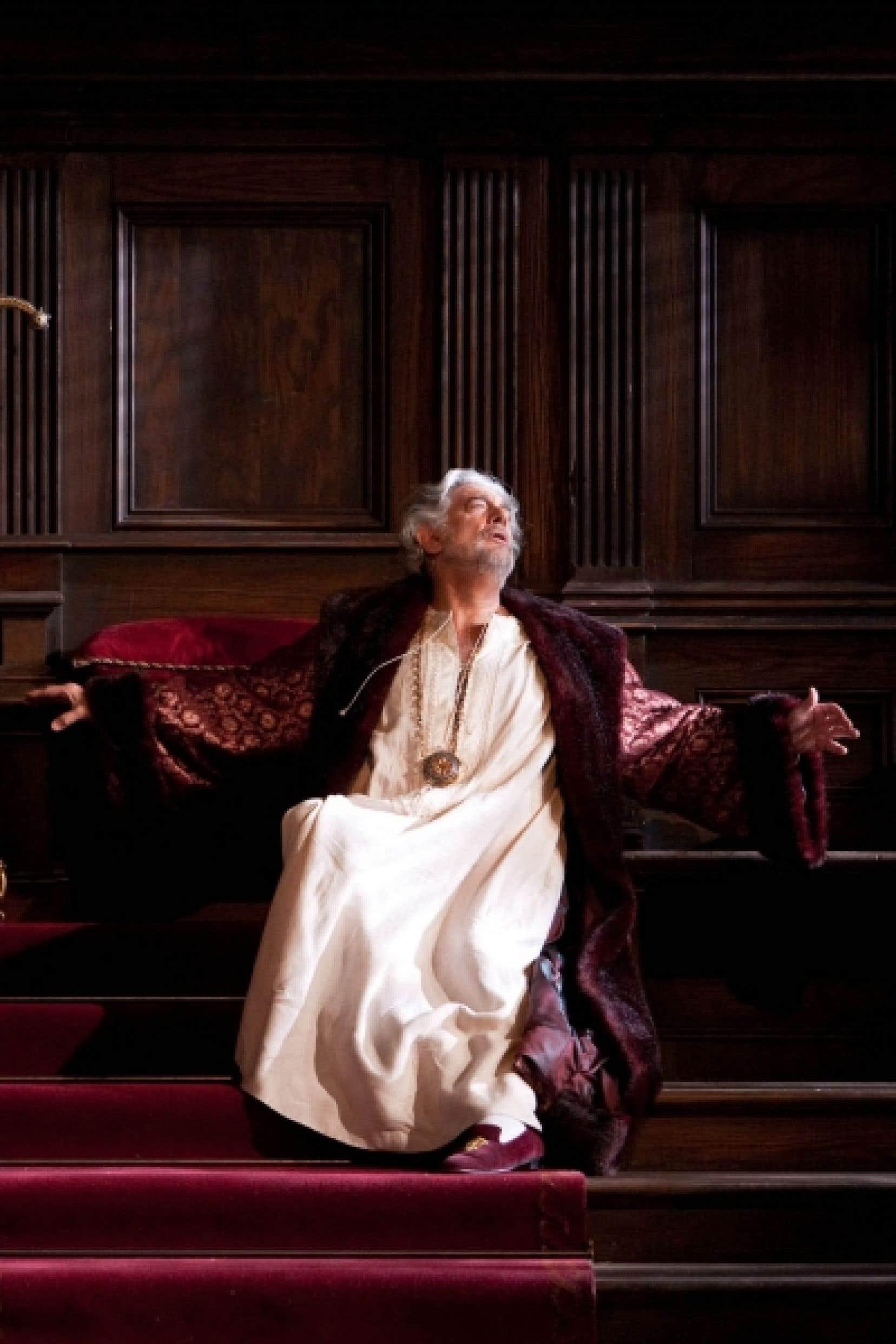 Placido Domingo dans le rôle de Boccanegra