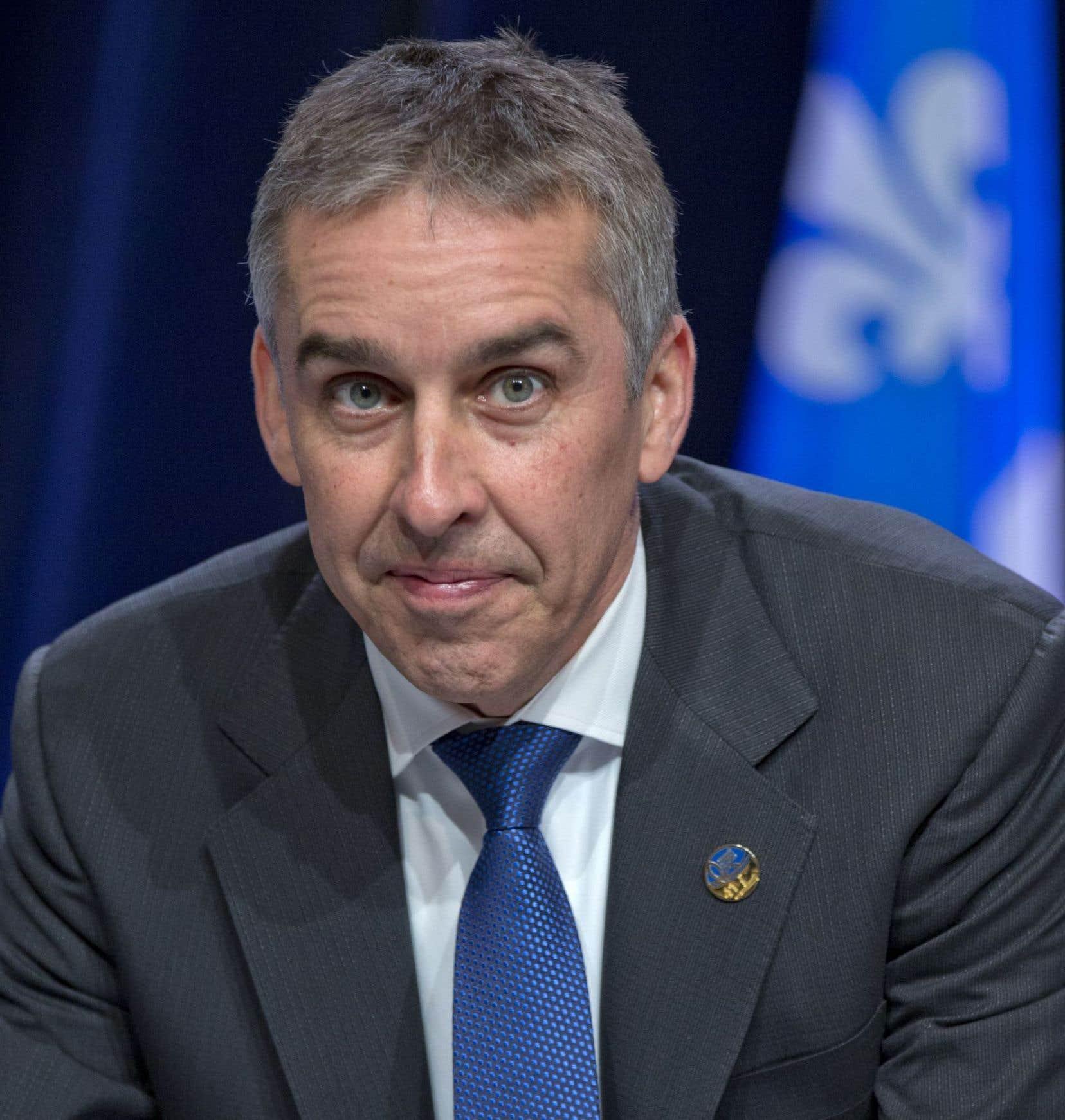Nicolas Marceau, ex-ministre des Finances du dernier gouvernement péquiste, a affirmé qu'il est demeuré neutre tout en exerçant ses fonctions.
