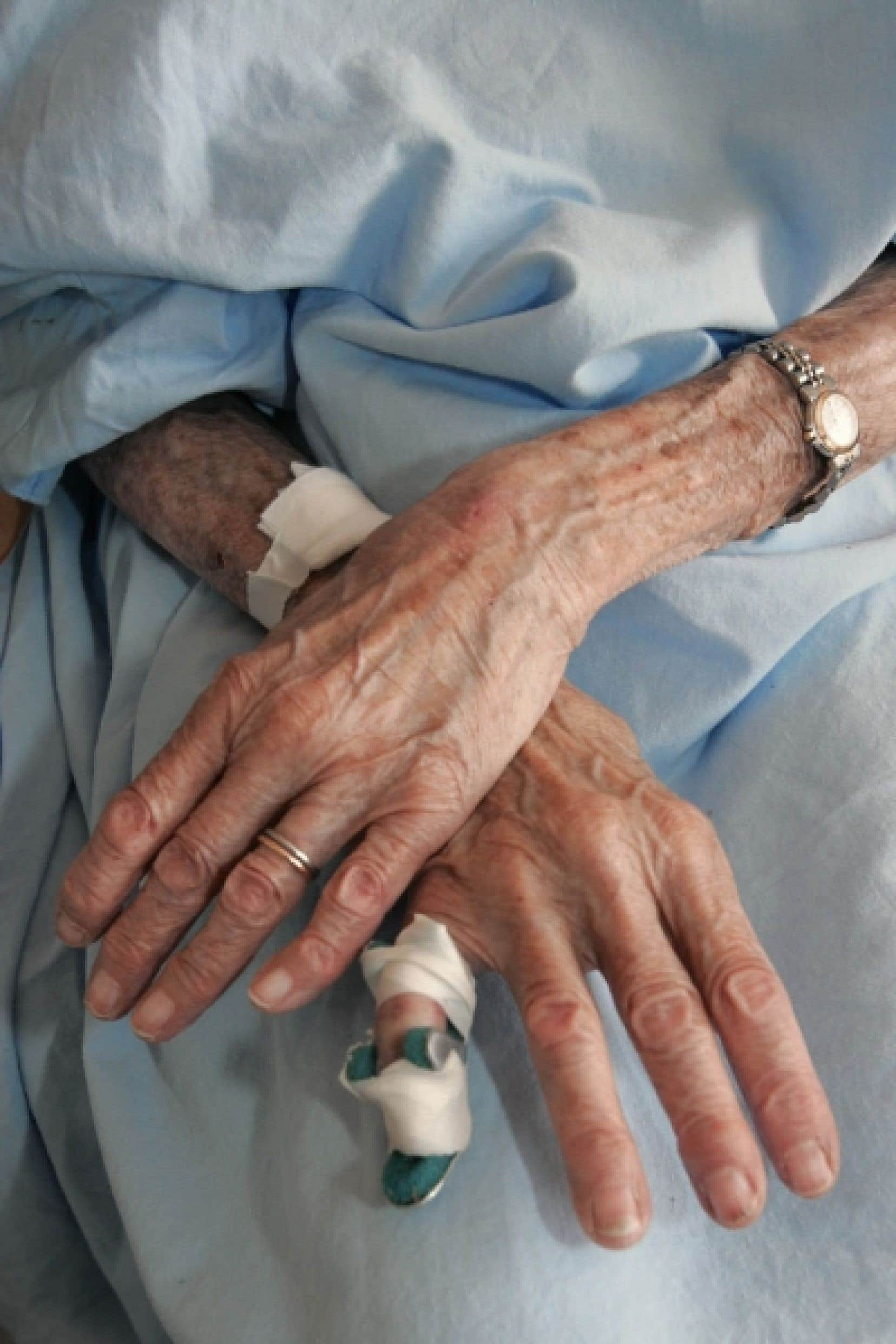 Au Québec, seuls 10% des mourants ont accès aux ressources en soins palliatifs.