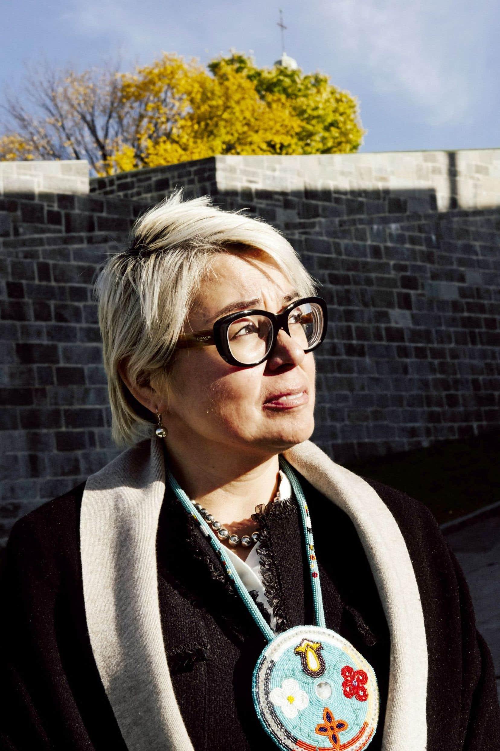 Nommée en septembre, Eva Ottawa concède qu'elle «commence à rentrer dans les dossiers» du CSF.