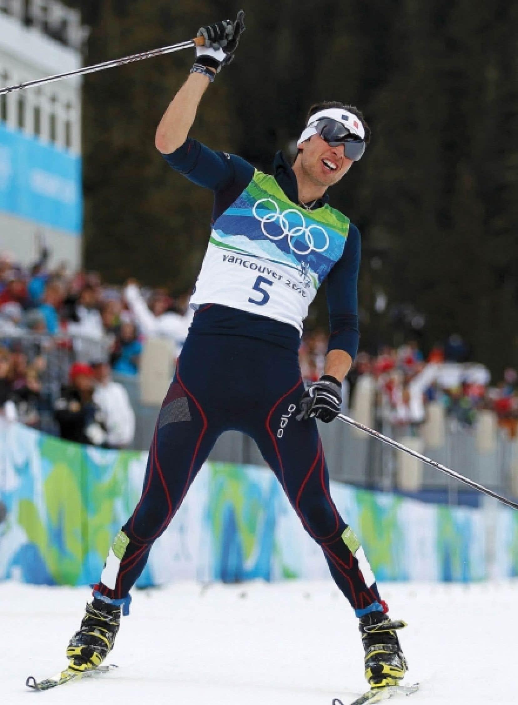 Le Français Vincent Jay a su profiter des conditions météorologiques pour devenir champion olympique de sprint en biathlon.