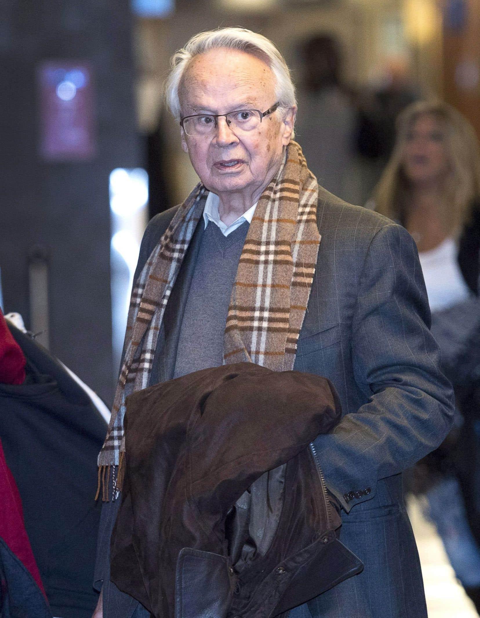 JacquesCorriveau faisait face à des accusations de trafic d'influence, de fabrication de faux documents et de recyclage de produits de la criminalité.