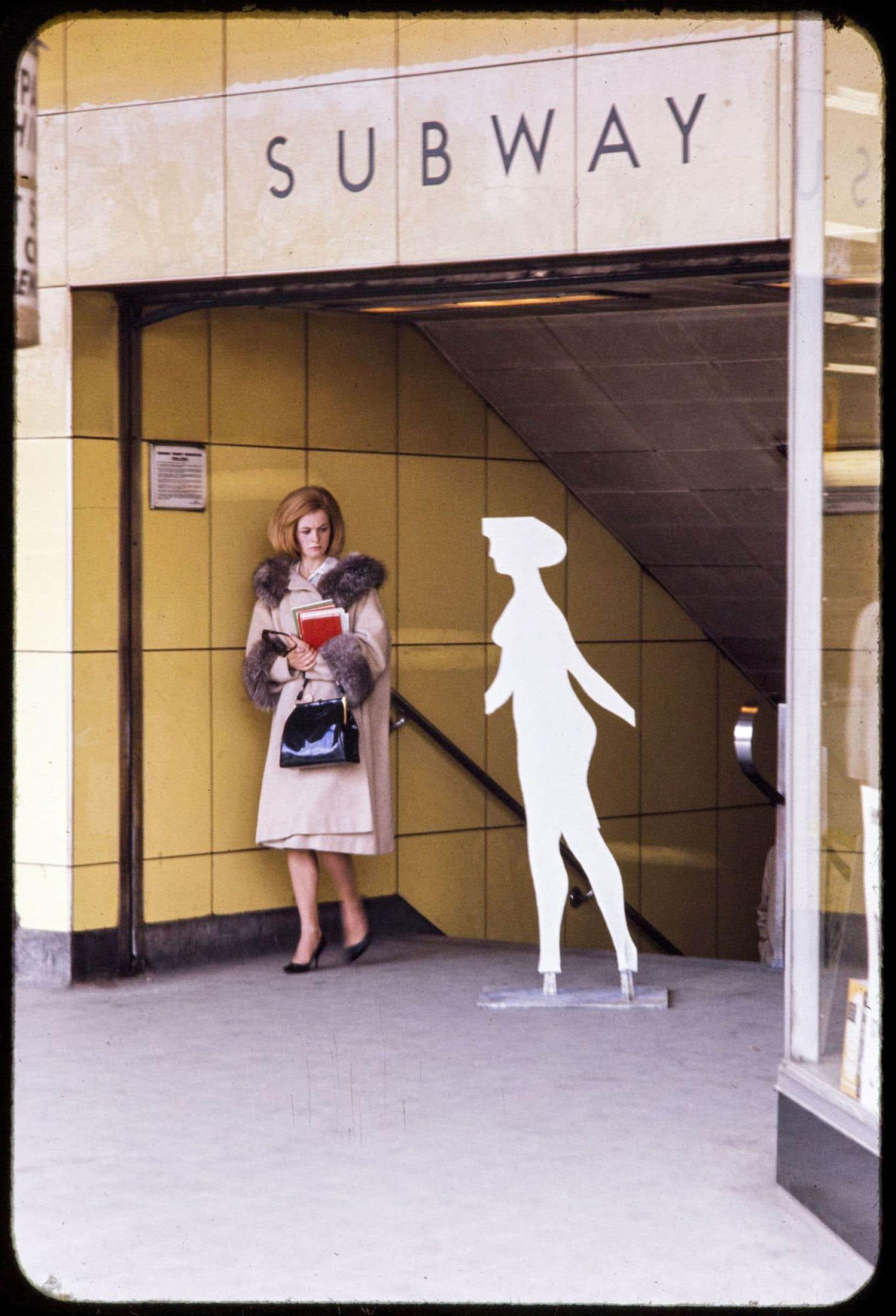 Michael Snow, Walking Woman in Toronto Subway, 1963-2016