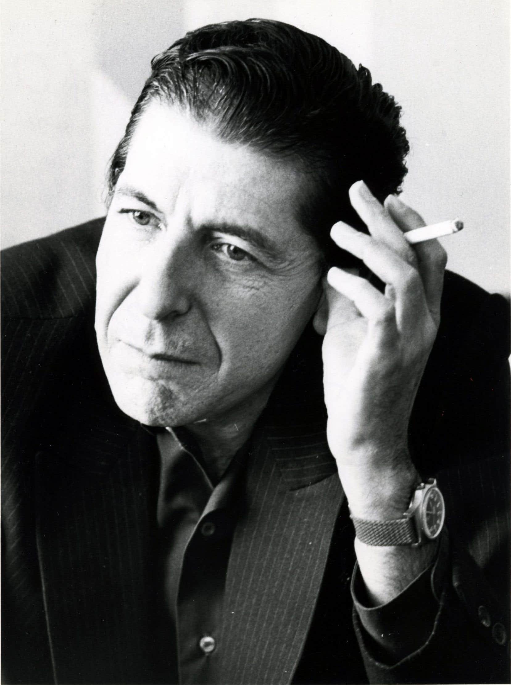Leonard Cohen en 1985