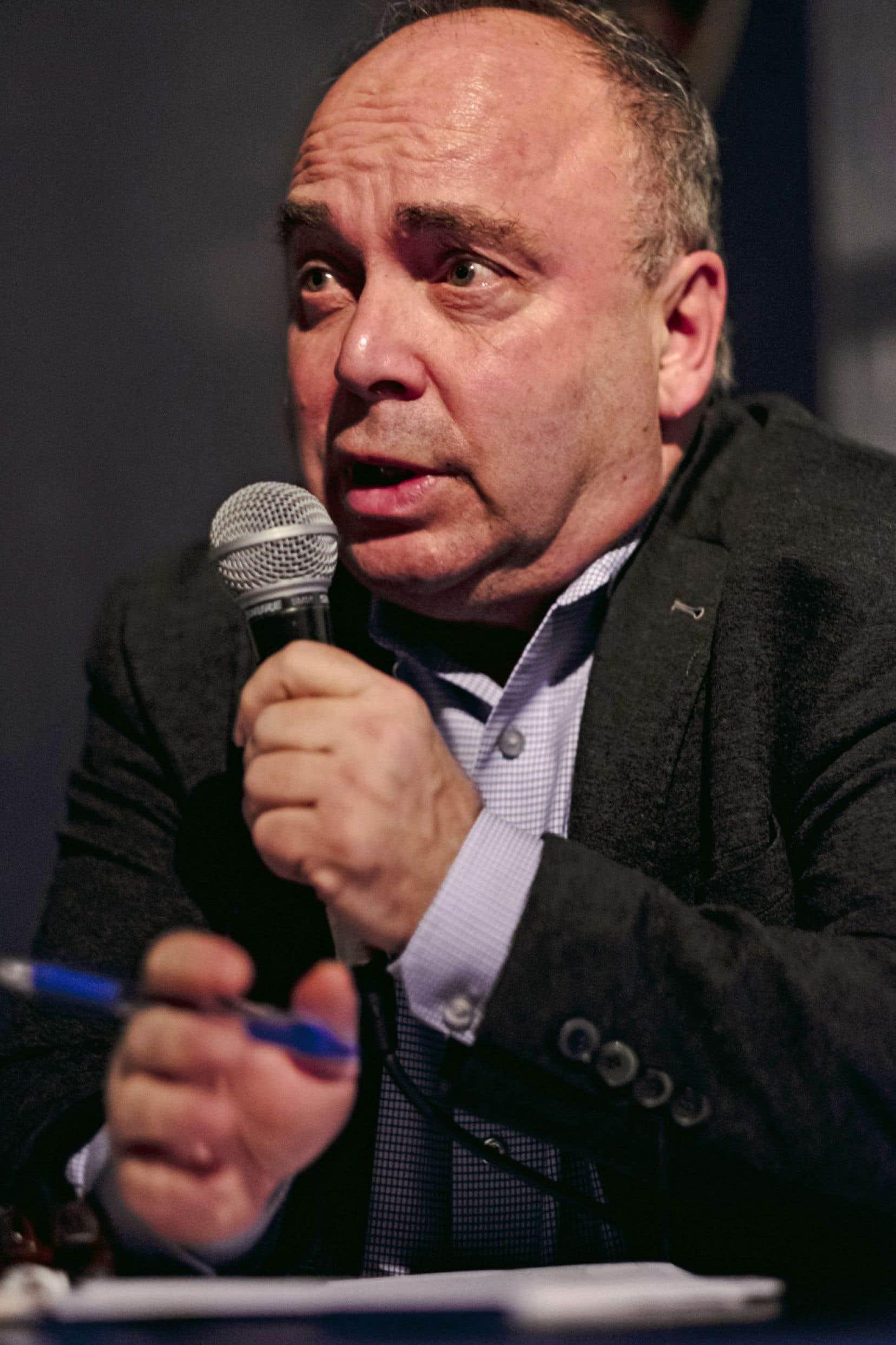 François Marchand avait approché l'équipe du maire lors d'une rencontre en juillet.