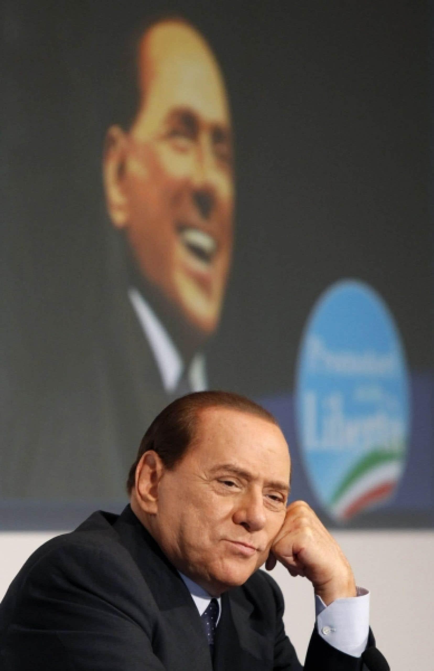 À l'étranger, on ne voit plus la liquidation de la société en cours sous la coupe de Berlusconi.