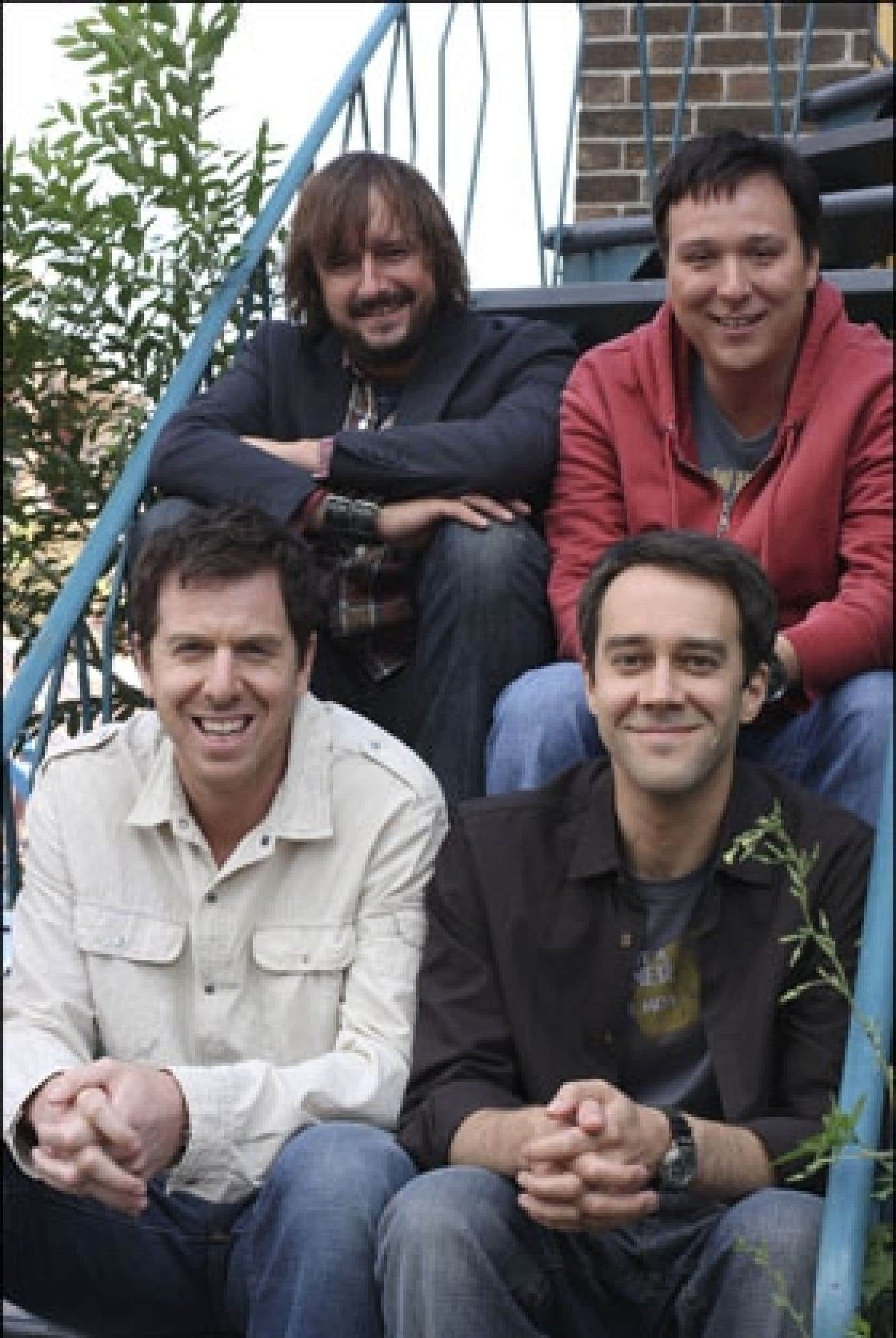 Patrice Robitaille, François Létourneau, Rémi-Pierre Paquin et Pierre-François Legendre, quatre interprètes des Invincibles