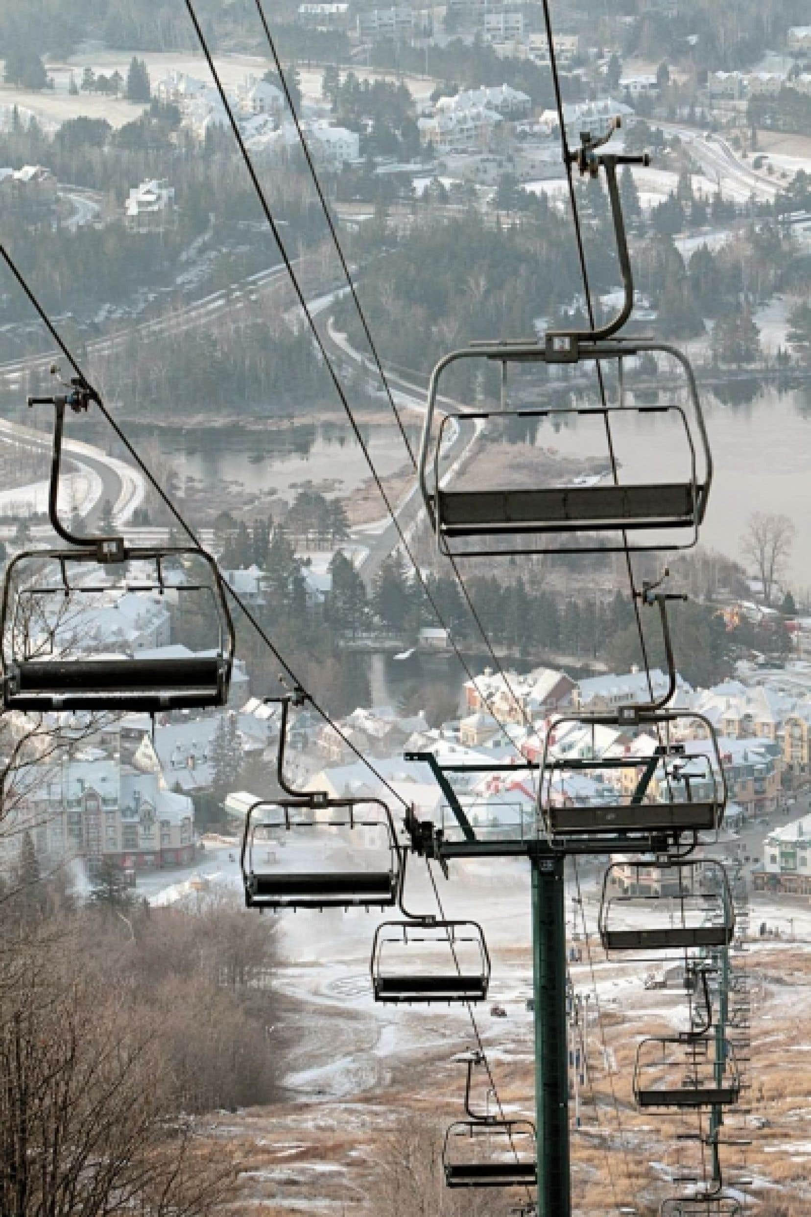 Intrawest exploite la station de ski Mont-Tremblant depuis son acquisition en 1991.