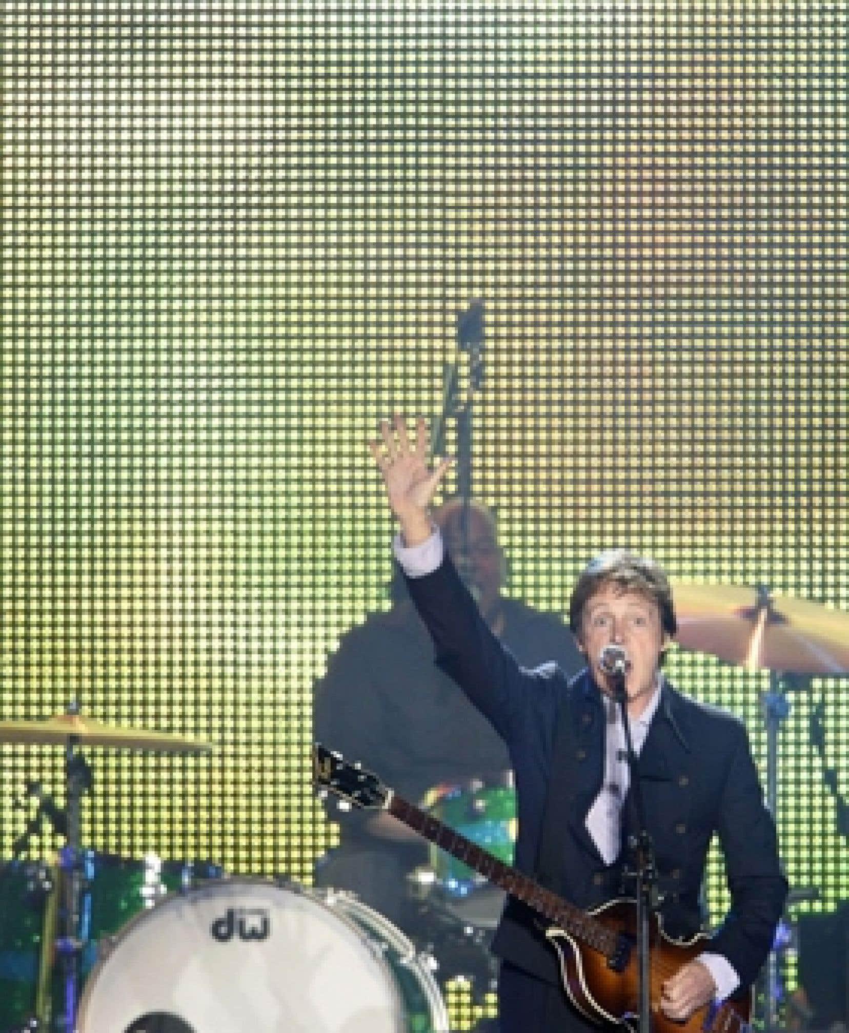 L'inoubliable spectacle de Sir Paul McCartney sur les Plaines d'Abraham, à Québec, le 20 juillet dernier.