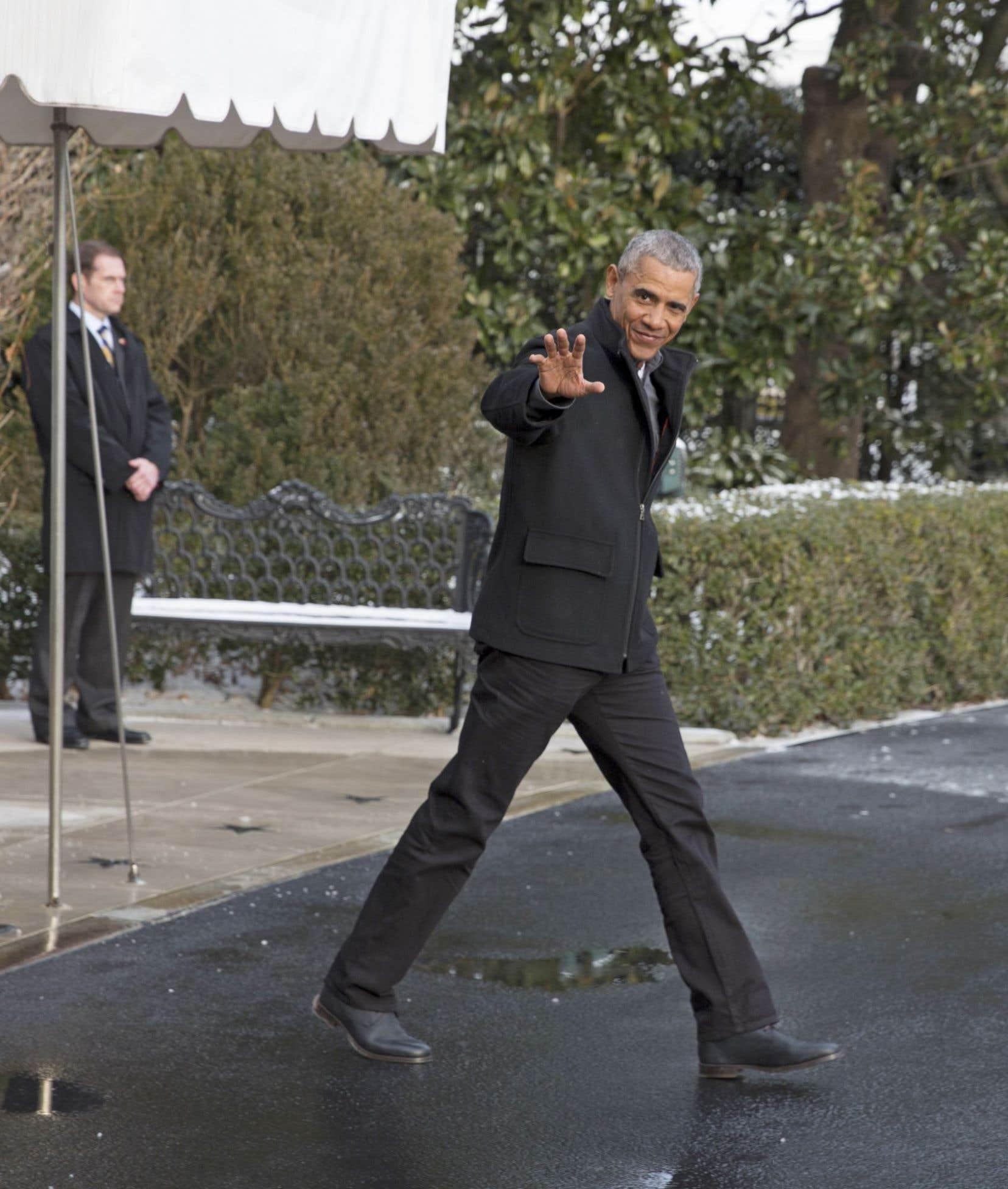 Barack Obama prononcera son discours d'adieu mardi à Chicago.