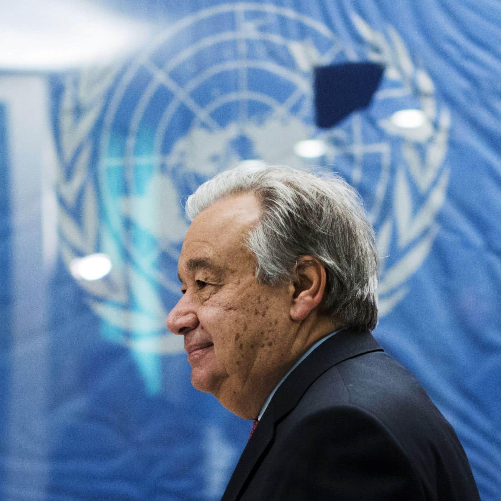 M.Guterres dit vouloir faire de 2017 «une année pour la paix».