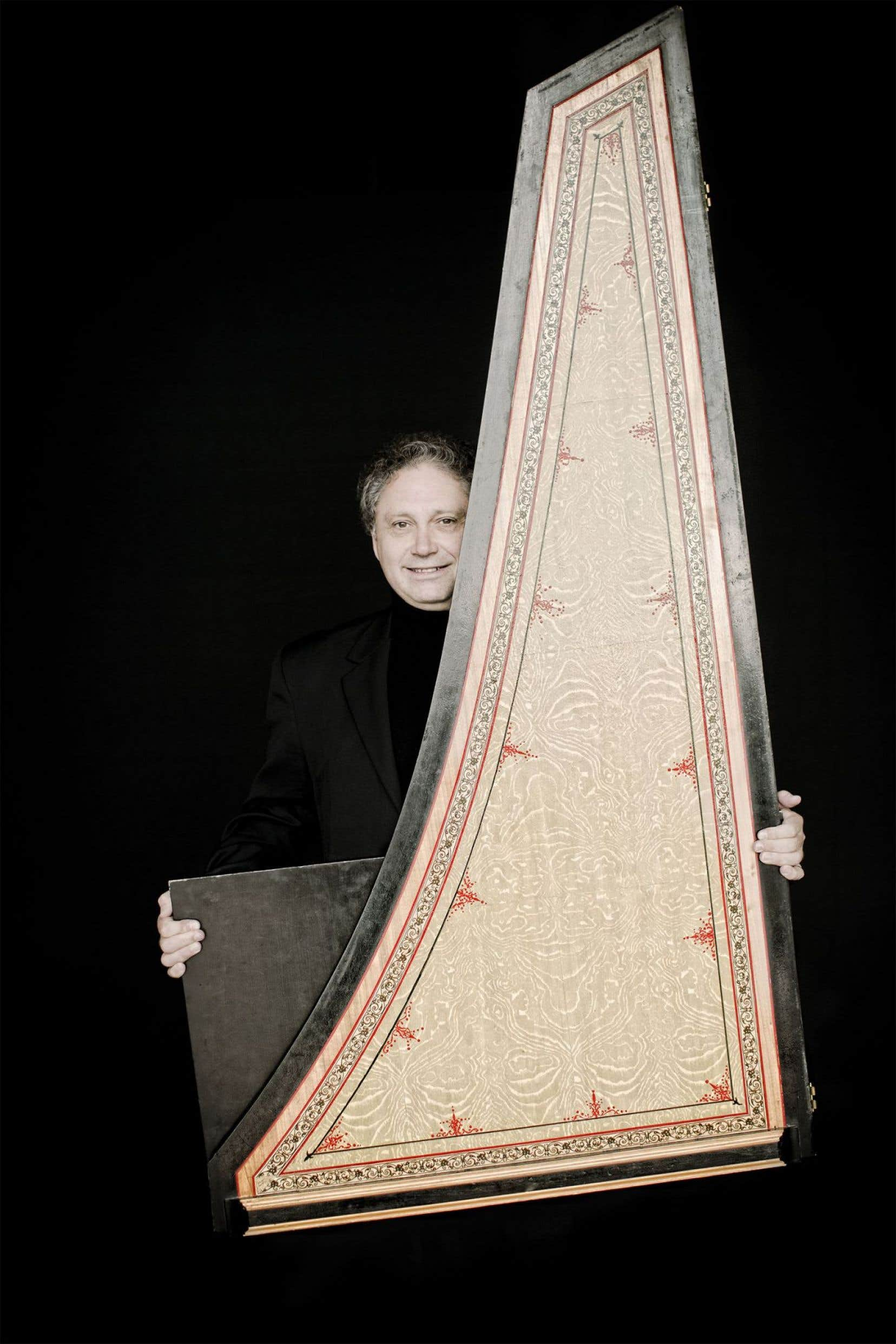 Richard Egarr seprésentait mercredi à la salle Bourgie dans le cadre de la série «Complètement clavecin»organisée par la Fondation Arte Musica.
