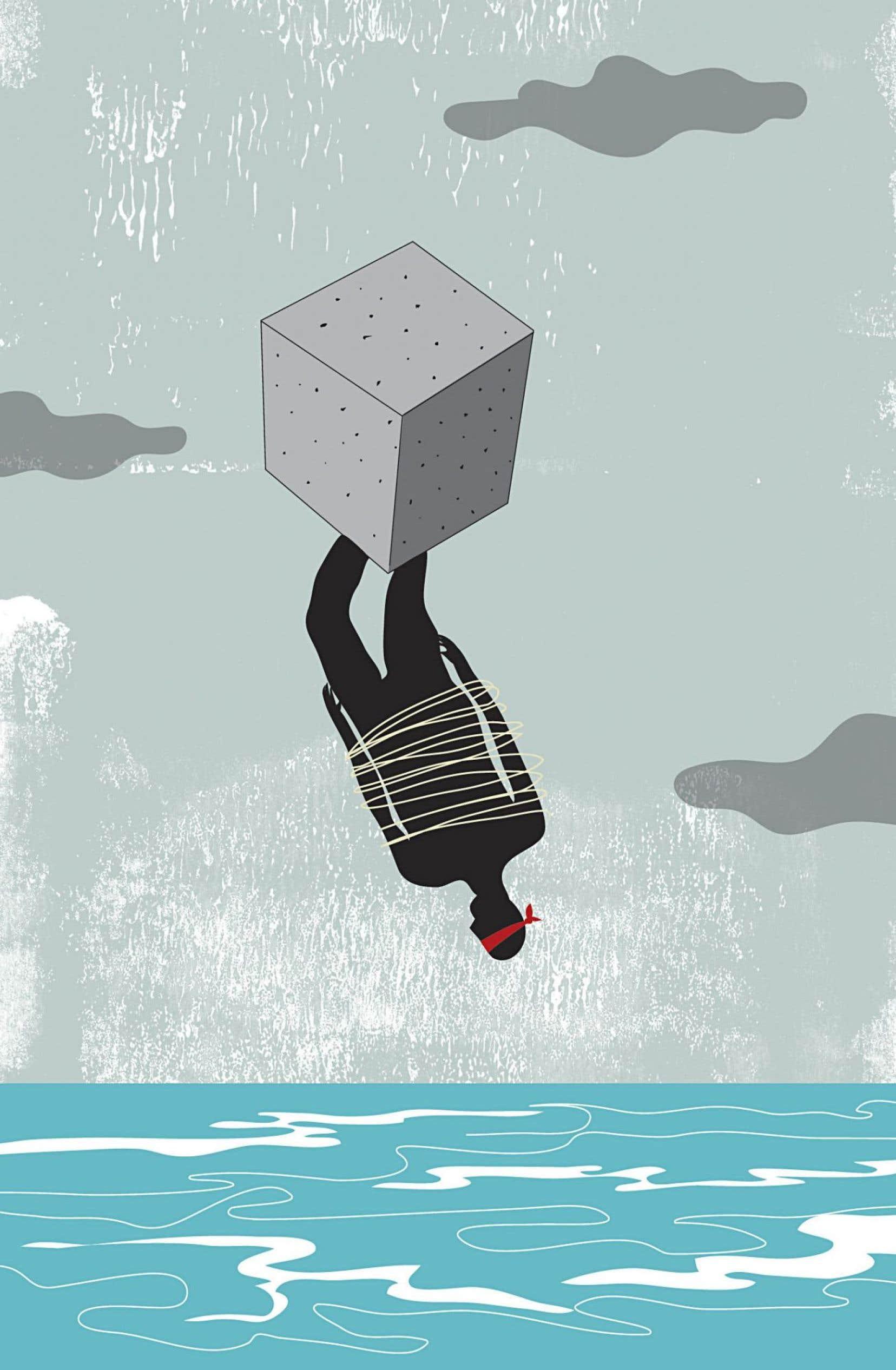 Le monde semble inéluctablement tiré vers le bas. Mais les lecteurs de polars le savaient déjà.