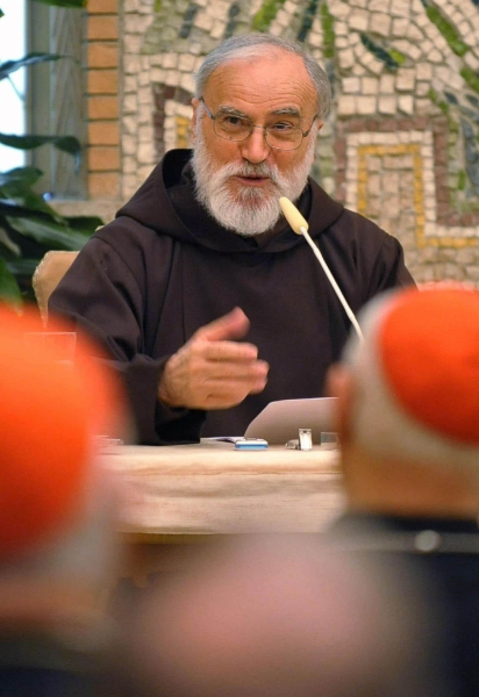 Le prédicateur du Vatican, père Raniero Cantalamessa