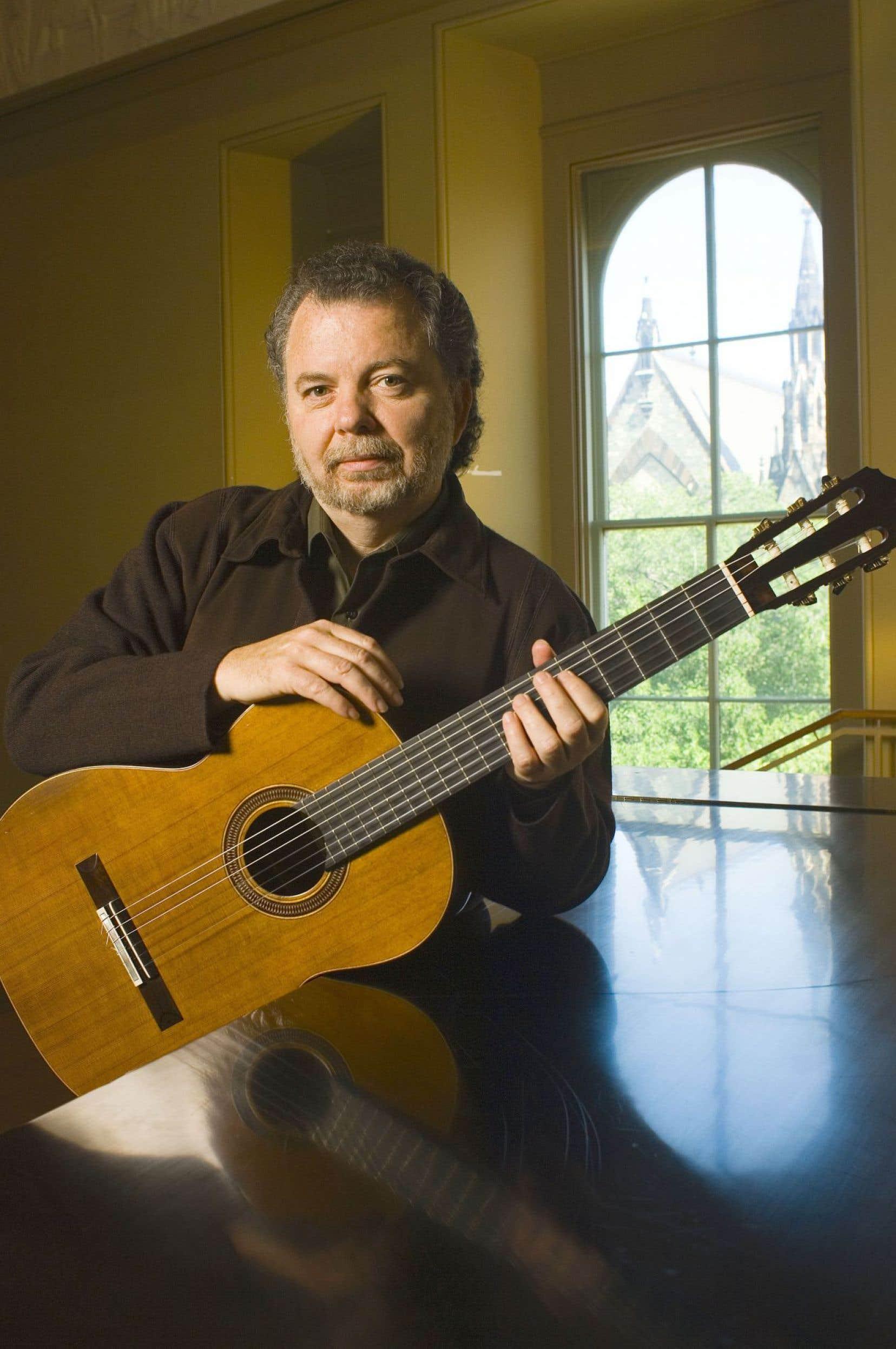Le guitariste Manuel Barrueco