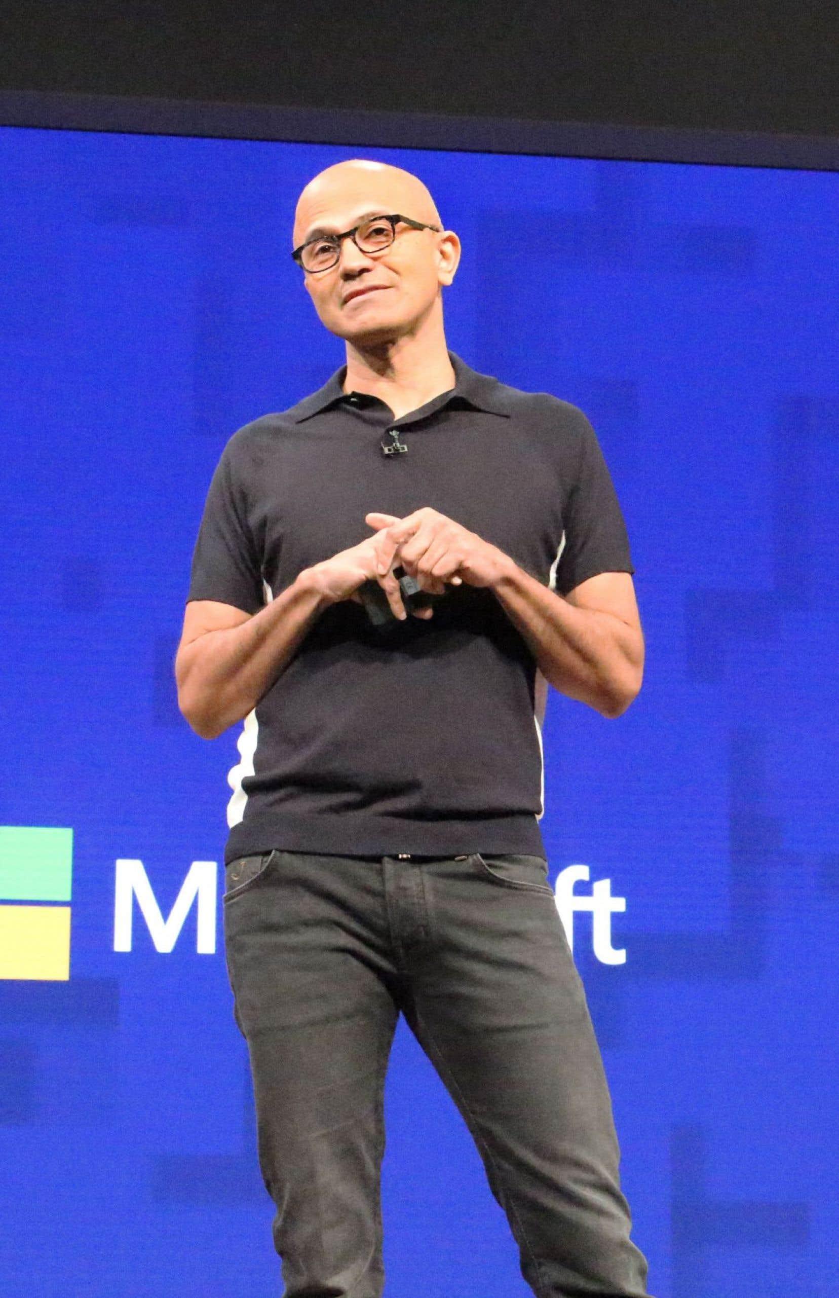 Il faut établir des relations de confiance entre la technologie et ses utilisateurs, a affirmé le p.-d.g. de Microsoft, Satya Nadella.