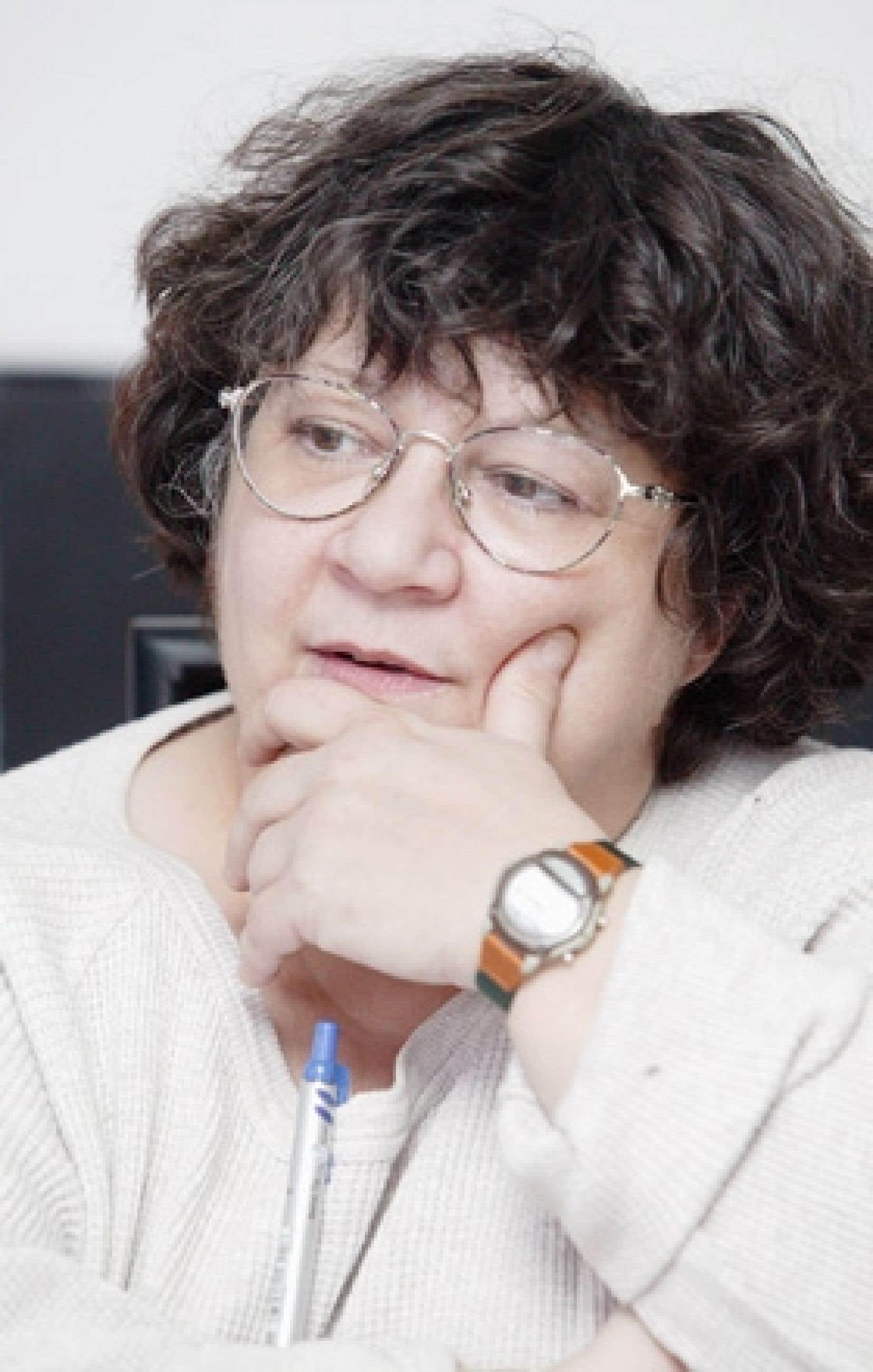 Cette photo d'Hélène Pedneault a été prise en mars 2005.