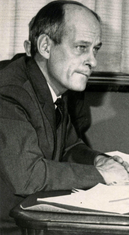 L'ex-premier ministre du Québec René Lévesque
