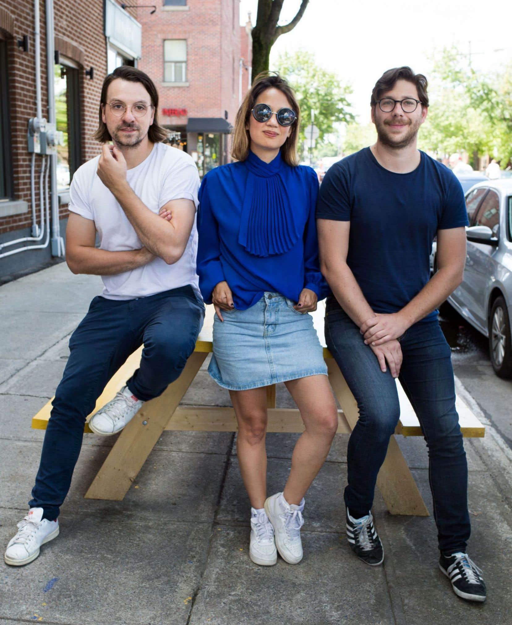Le trio électro-pop francophone Le Couleur est formé de Steeven Chouinard, Laurence Giroux-Do et Patrick Gosselin.