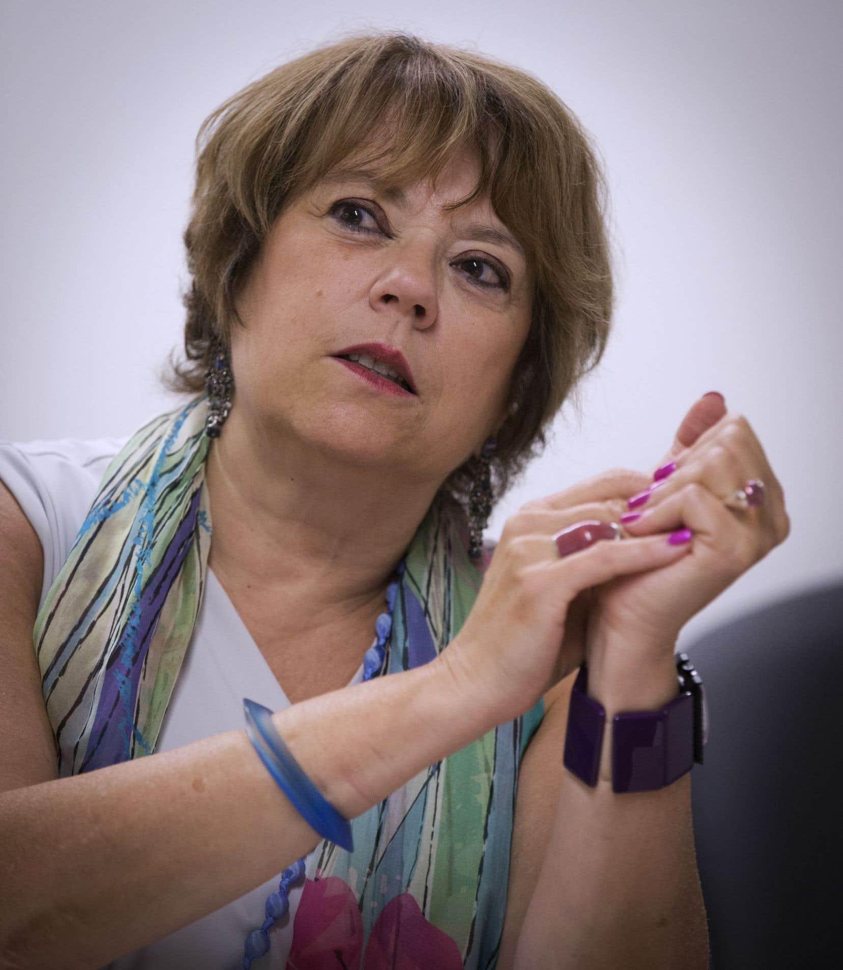 Hélène David a constaté des écarts importants dans la rémunération des dirigeants d'université et elle veut s'assurer d'un traitement équitable pour tous.