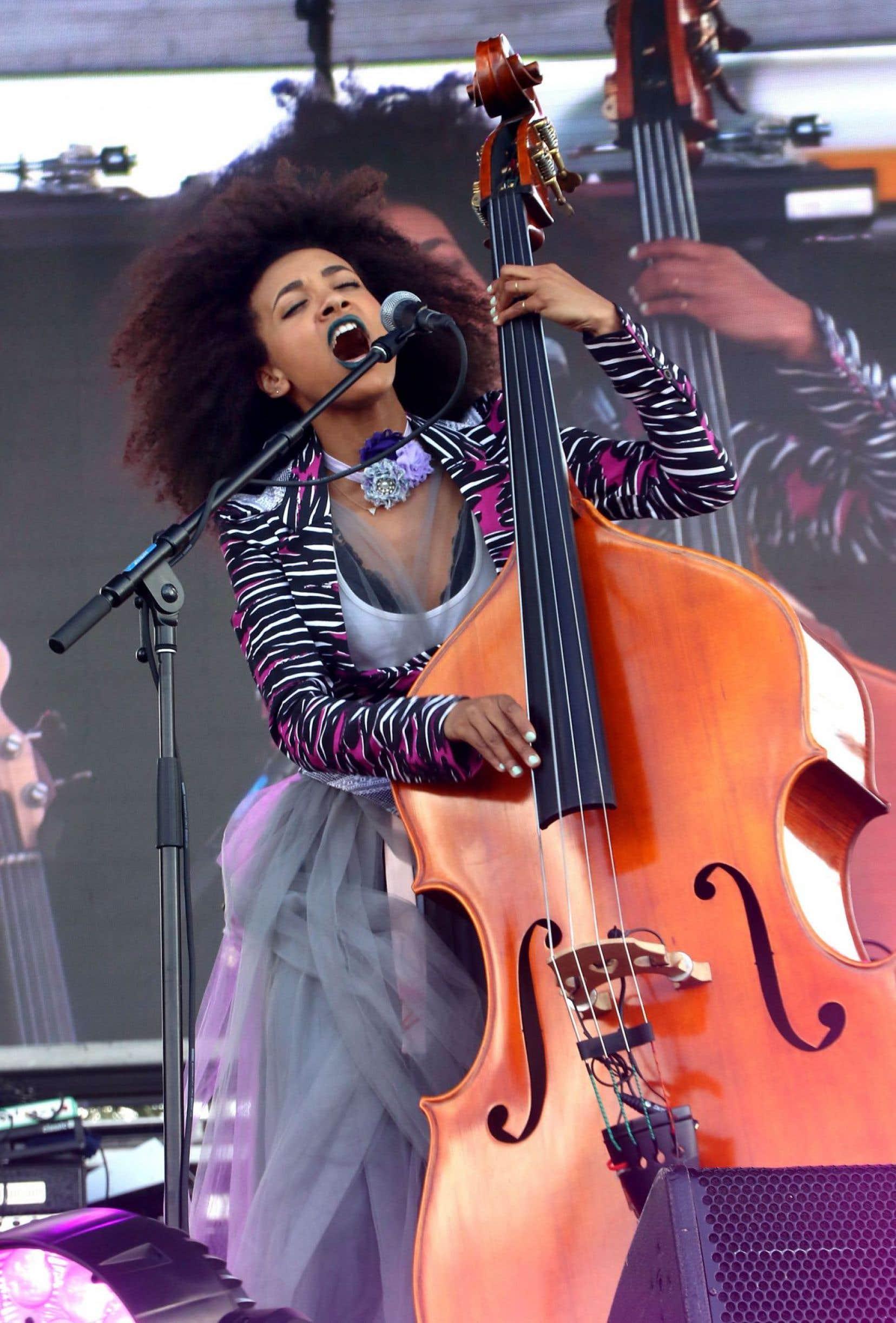 La musicienne et chanteuse Esperanza Spalding